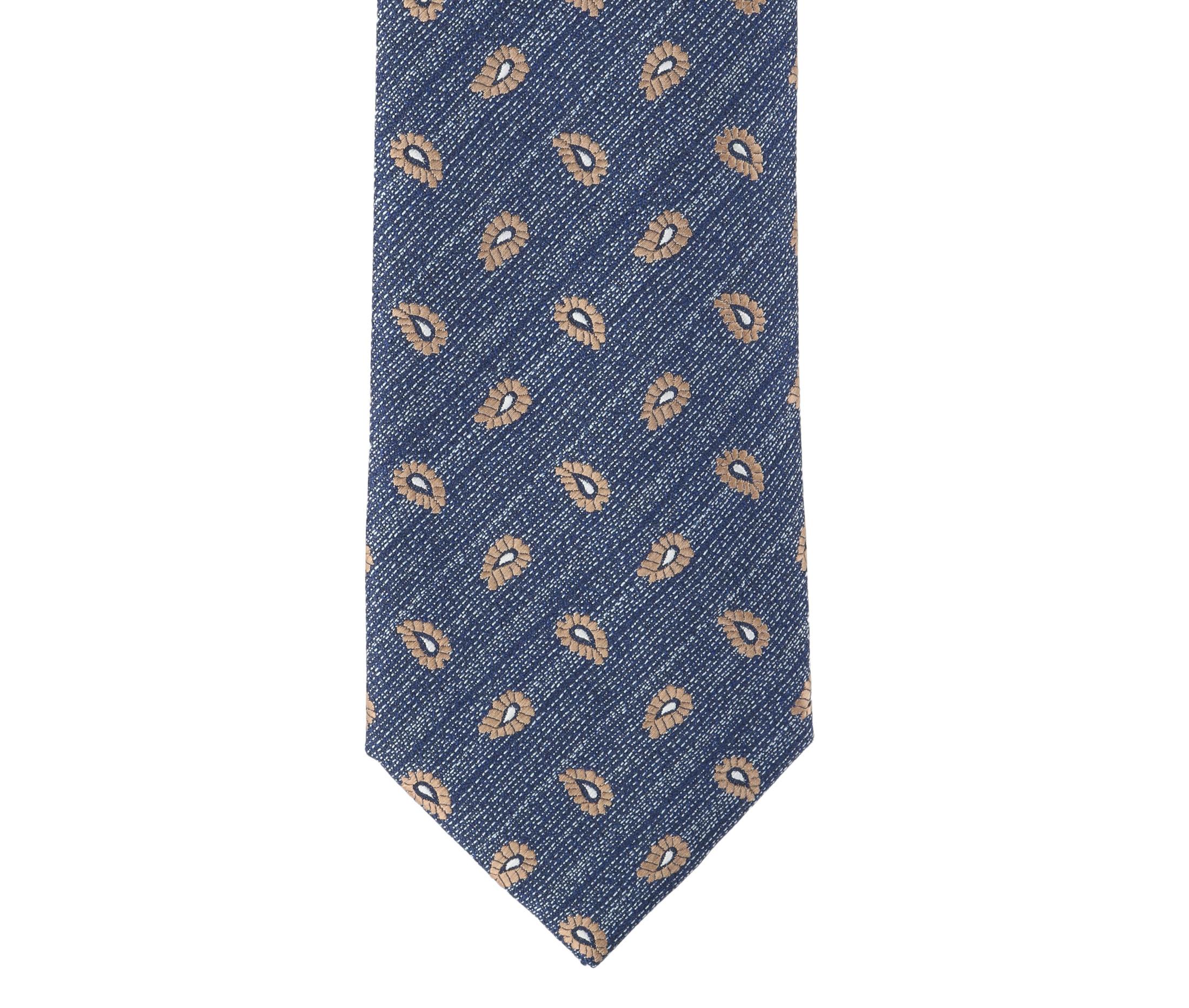 Krawatte Seide Paisley 9-17 foto 1