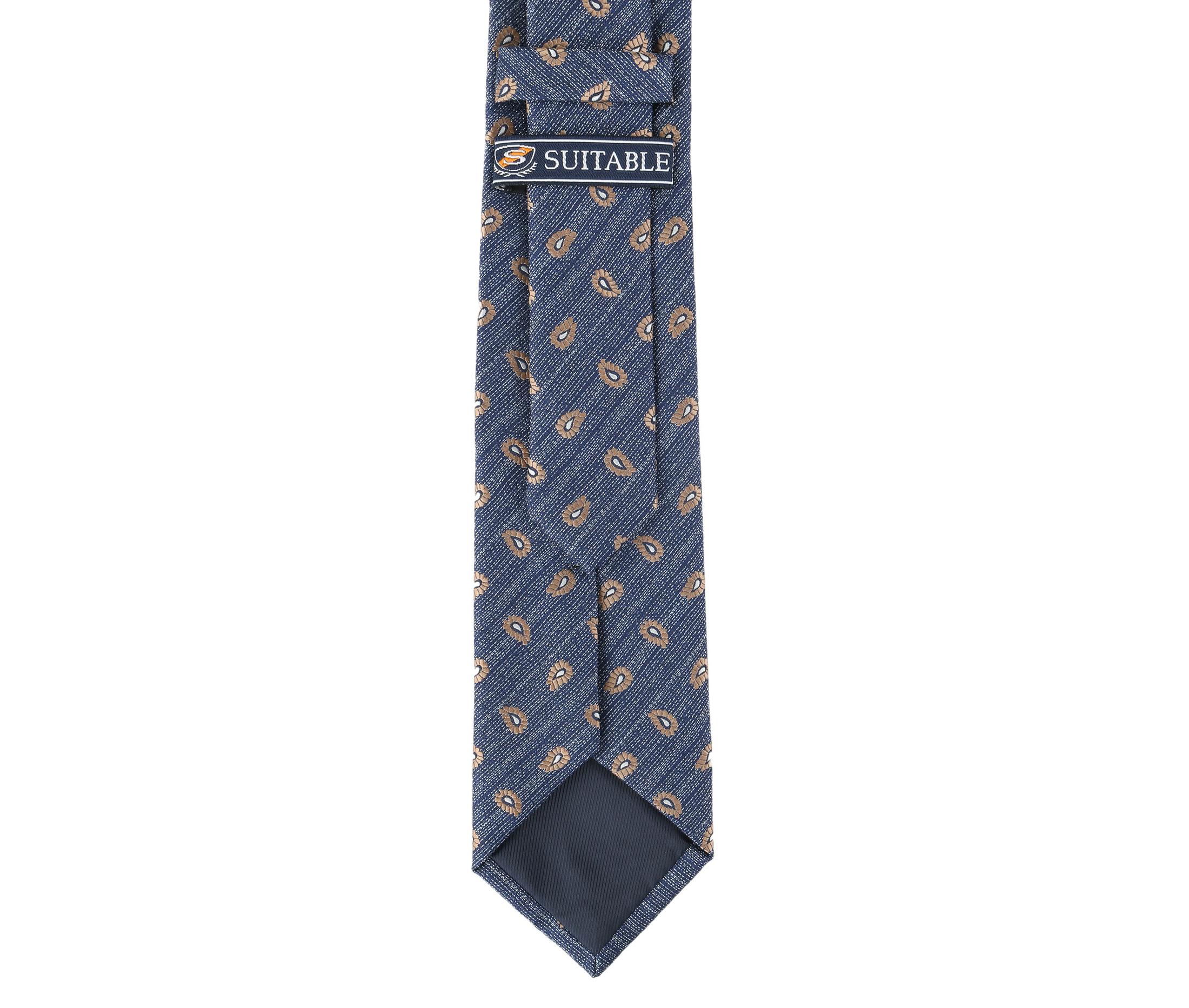Krawatte Seide Paisley 9-17 foto 3