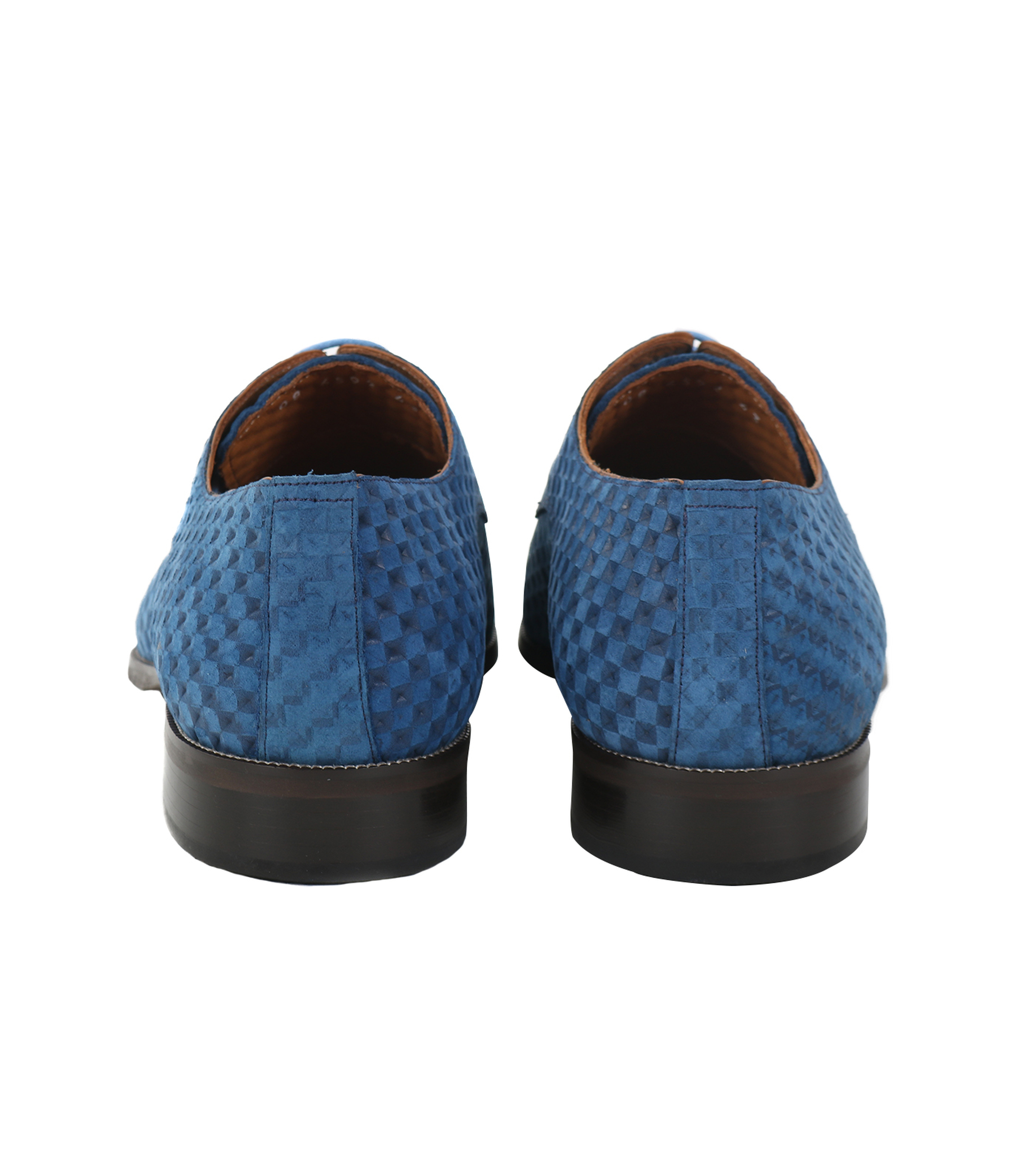 Leder Schuh Blau foto 2