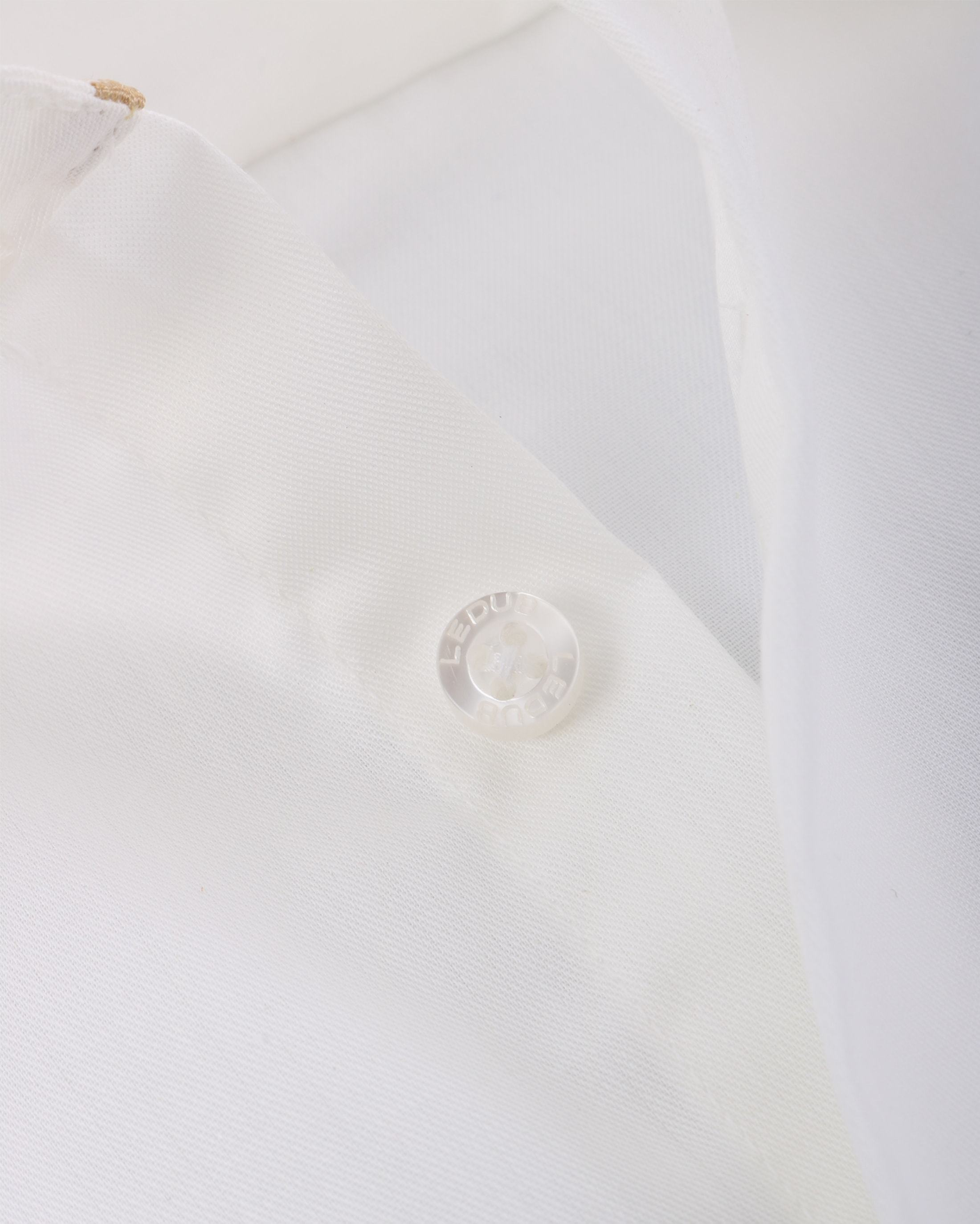 Ledub Hochzeit Hemd Bügelfrei Ecru foto 3