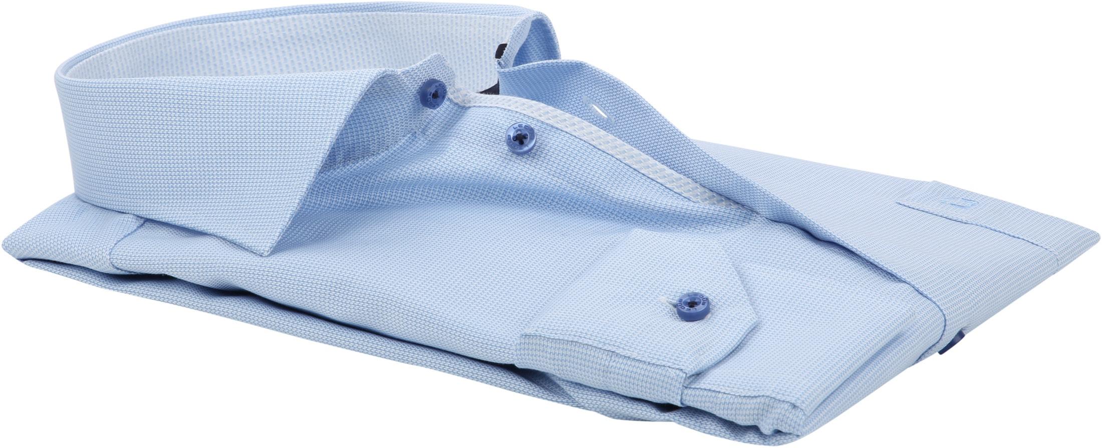 Ledub Overhemd Blauw Non Iron MF foto 3