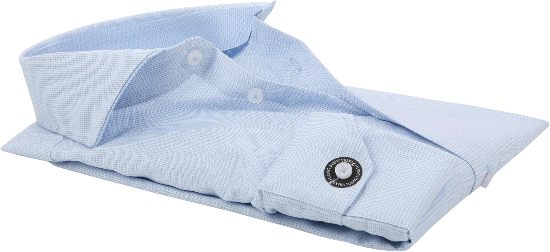 Ledub Overhemd Blauw Non Iron SL7 foto 3