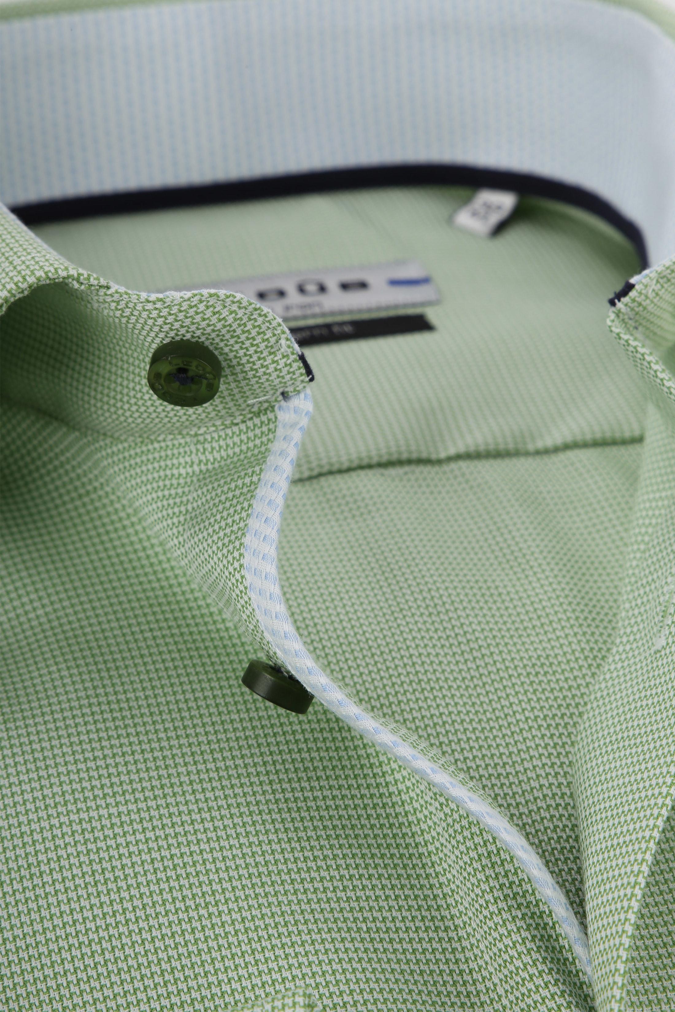 Ledub Overhemd Groen Non Iron MF foto 1