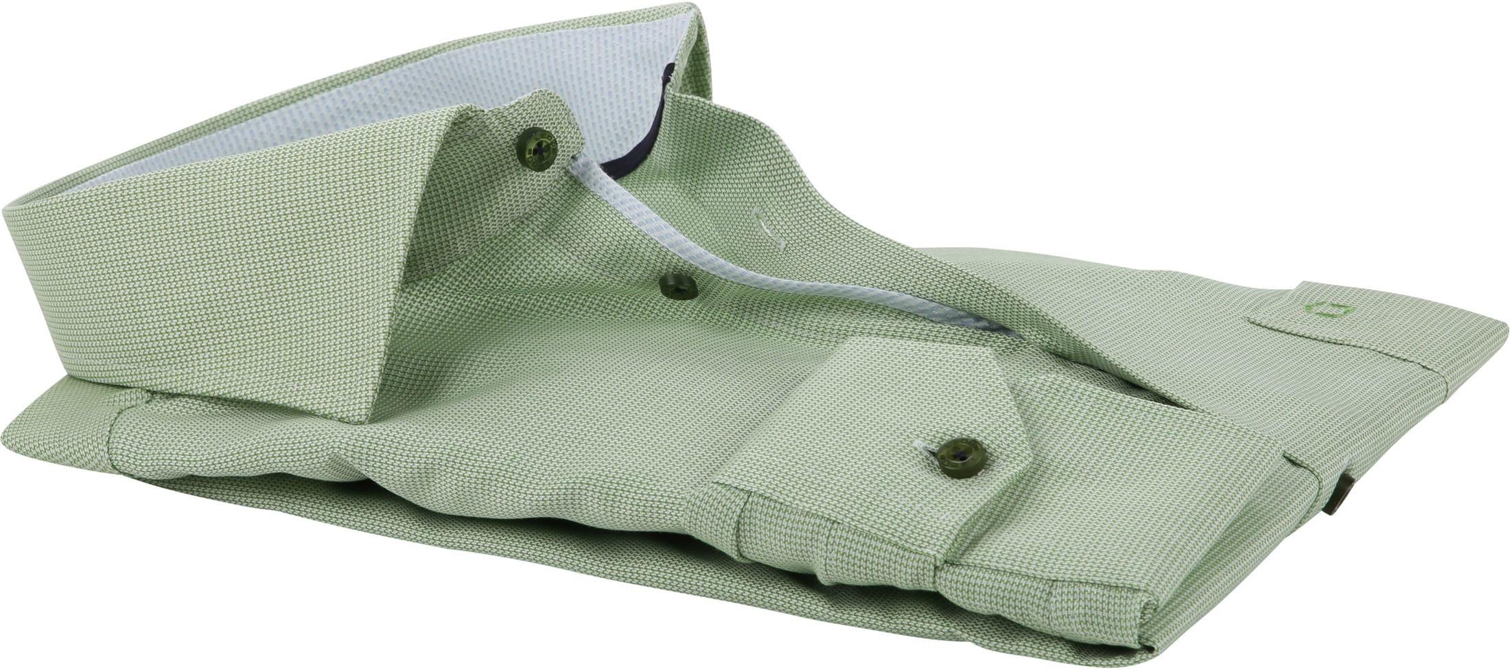 Ledub Overhemd Groen Non Iron MF foto 3