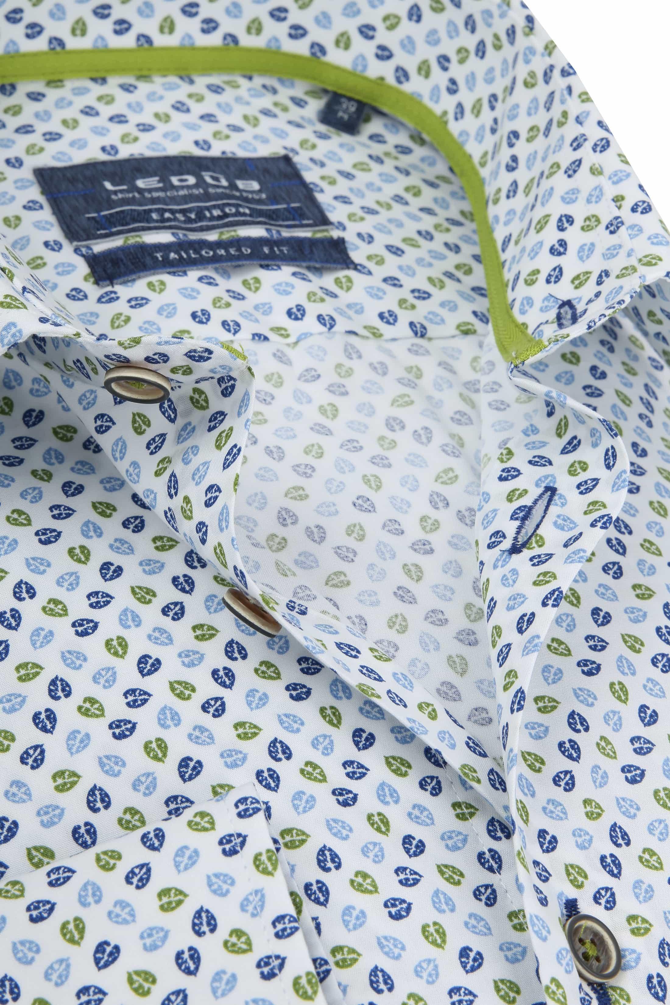 Ledub Overhemd MF Blaadjes foto 1