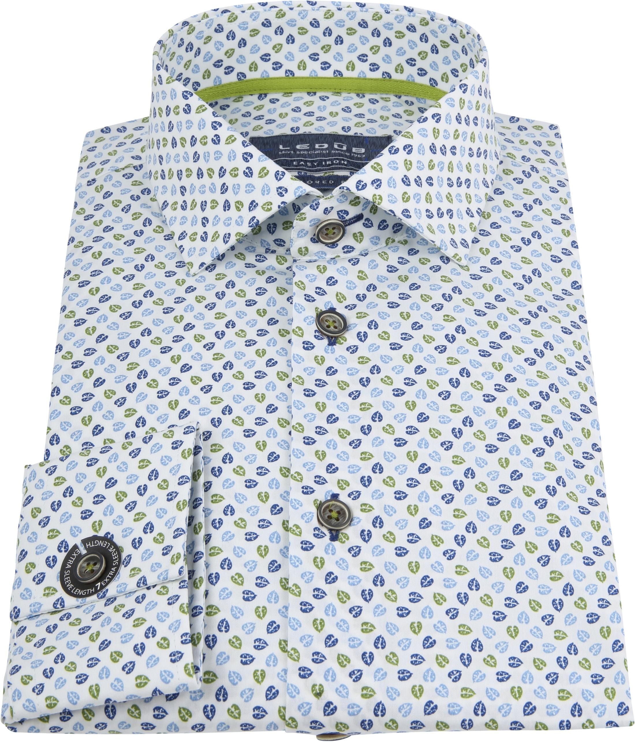 Ledub Overhemd MF Blaadjes foto 2
