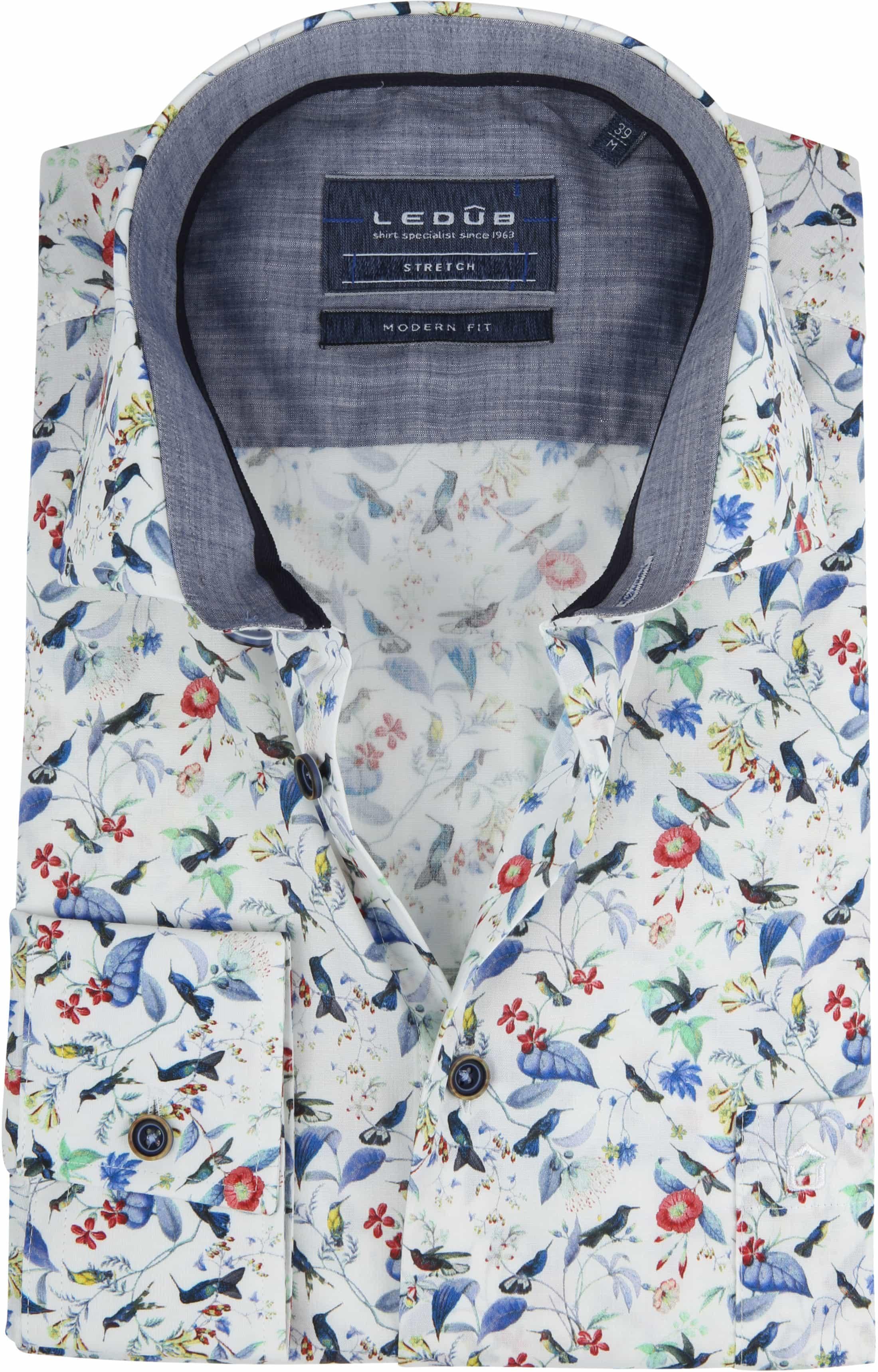 Ledub Overhemd MF Bloem foto 0