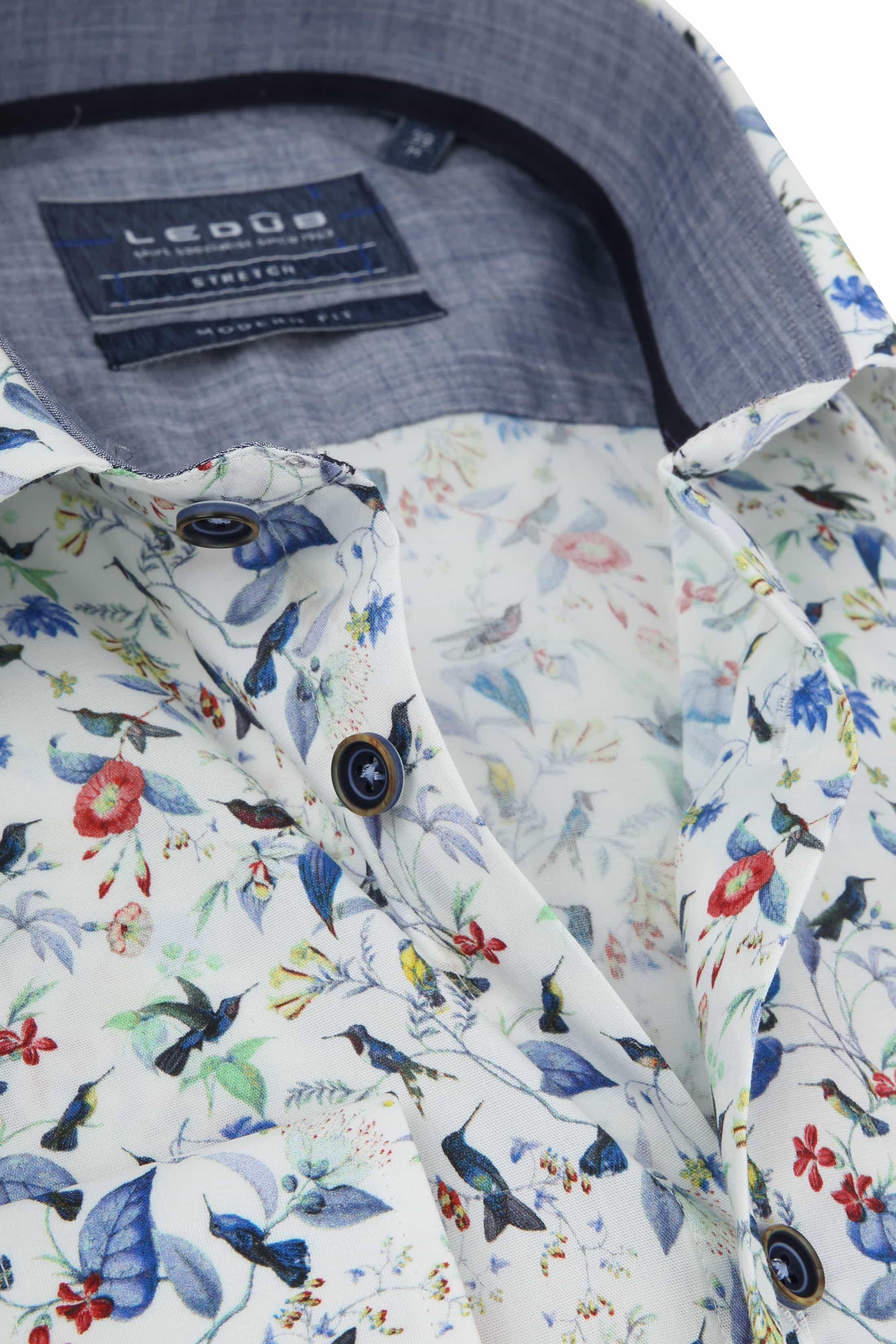 Ledub Overhemd MF Bloem foto 1