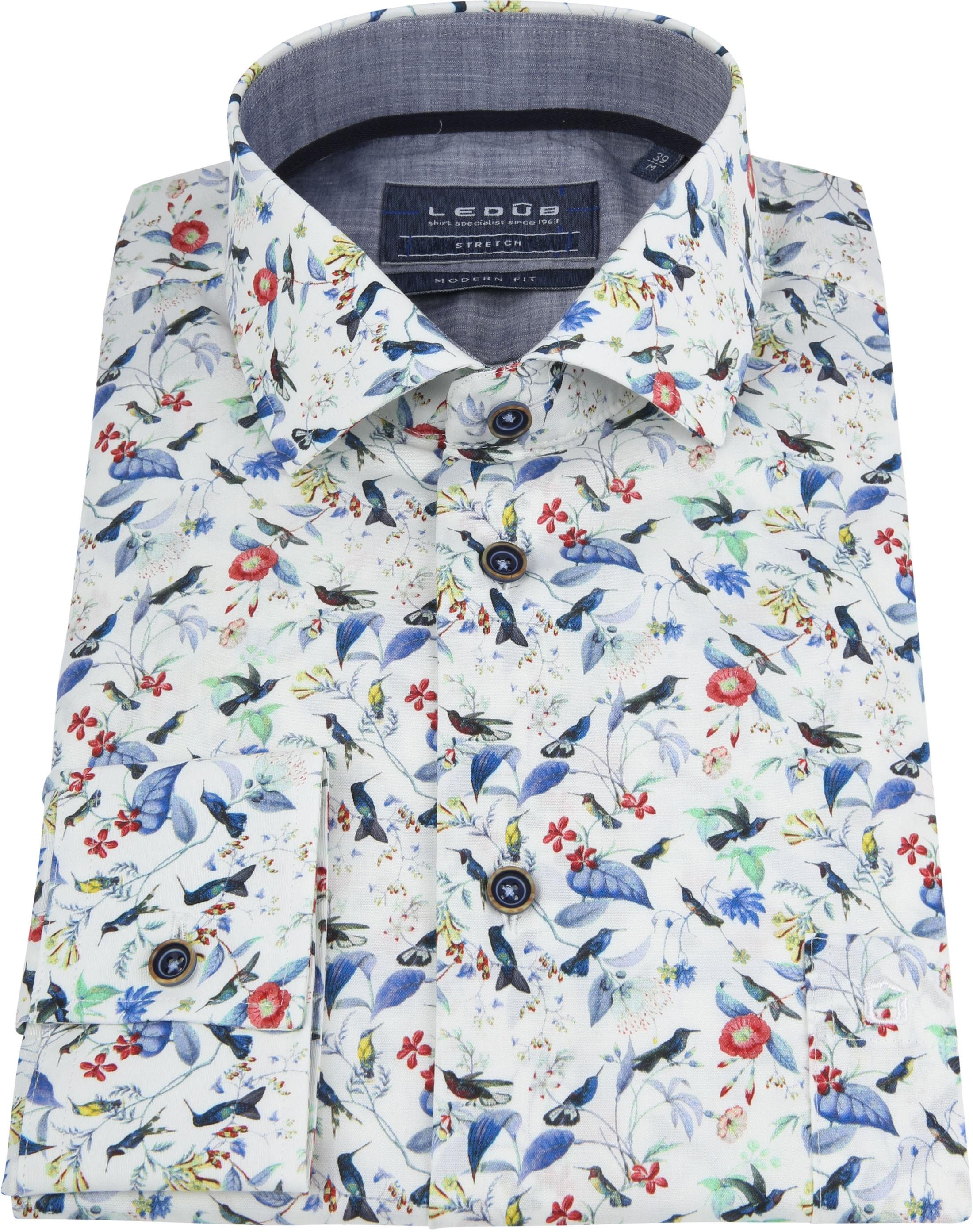 Ledub Overhemd MF Bloem foto 2