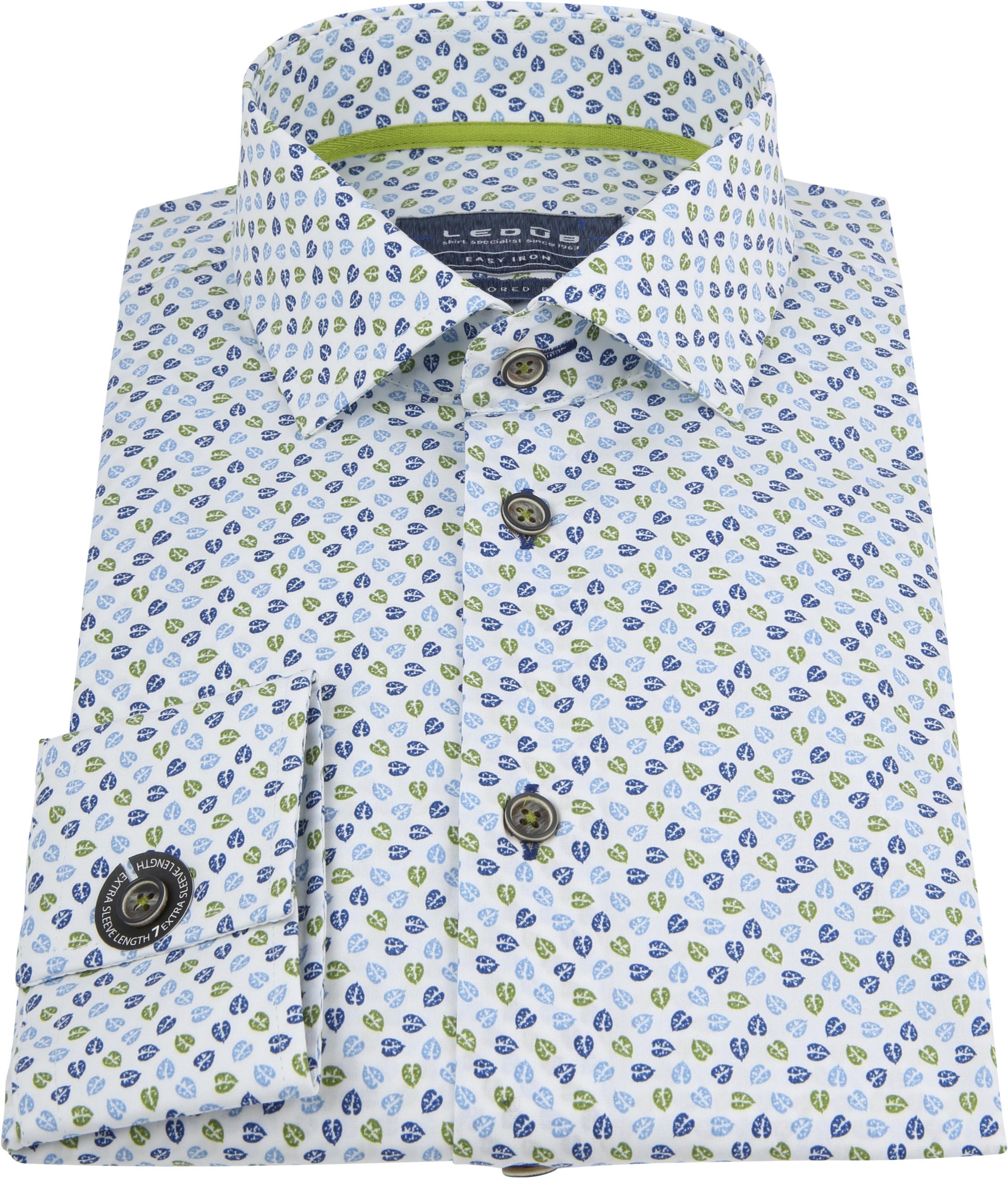 Ledub Overhemd MF Bloem foto 4