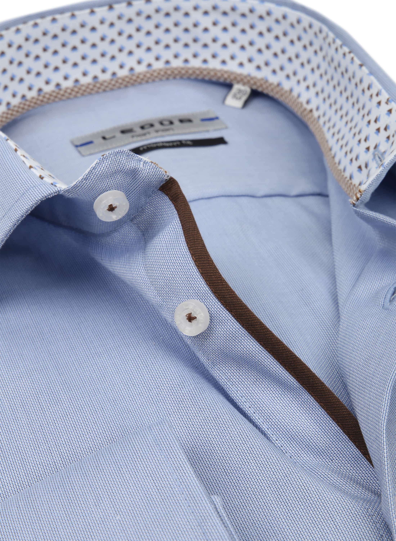 Ledub Overhemd MF Non Iron Blauw foto 1
