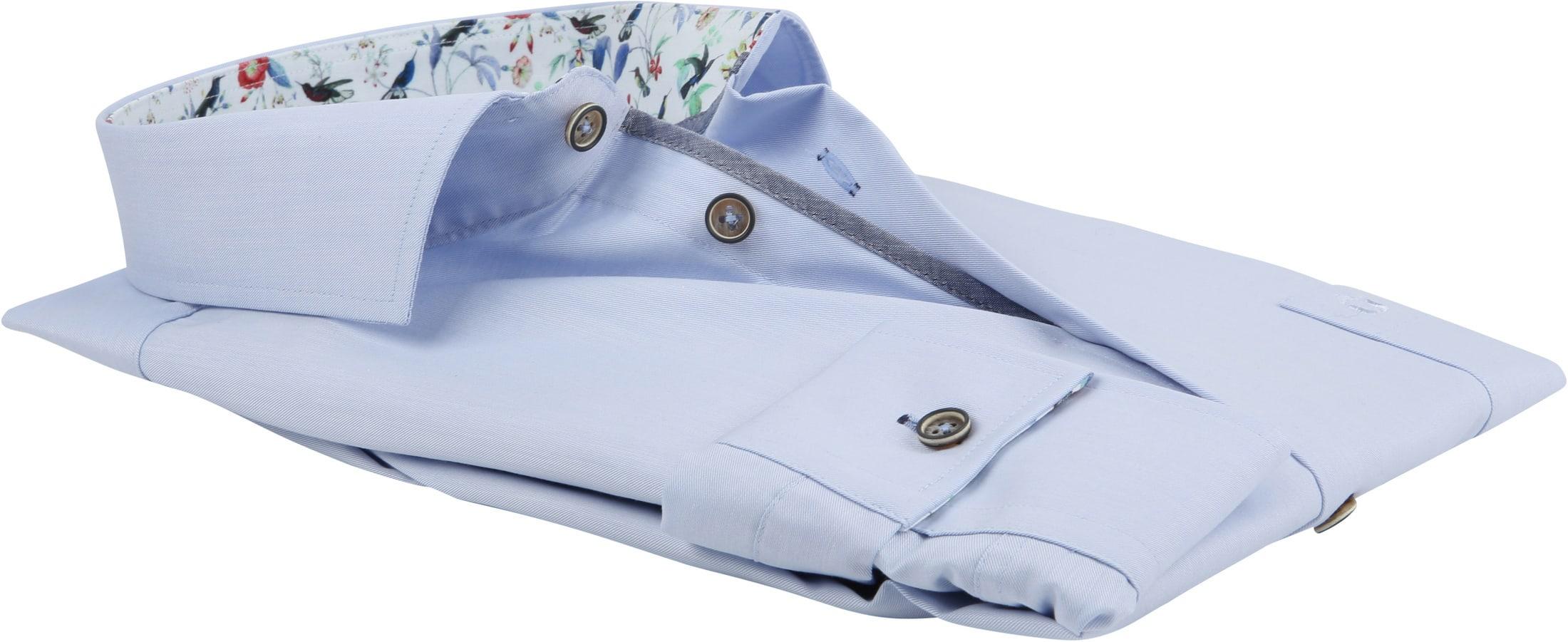 Ledub Overhemd Non Iron MF Blauw foto 3