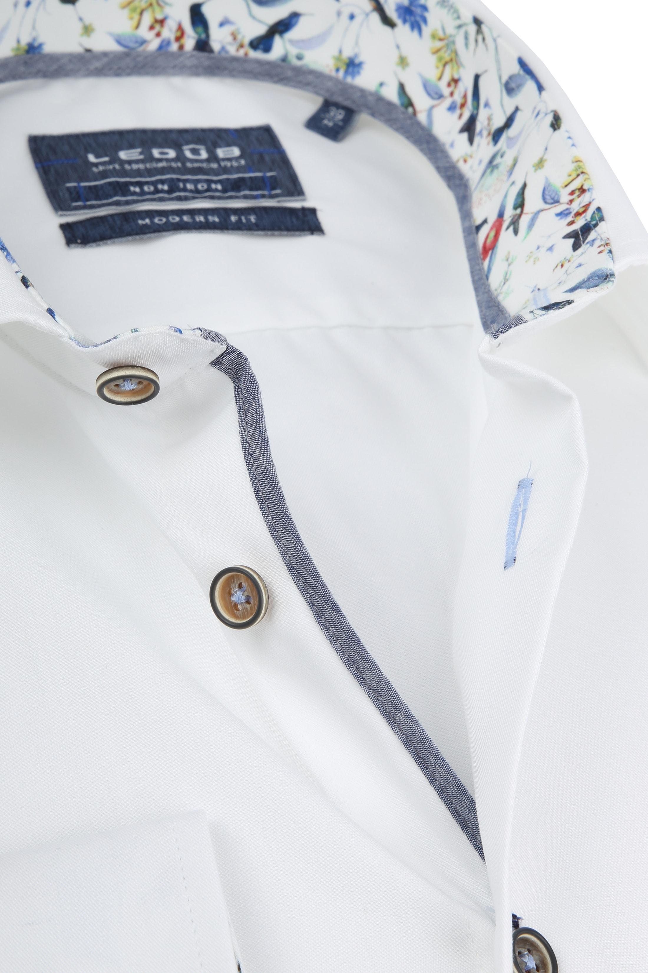 Ledub Overhemd Non Iron MF Wit foto 1
