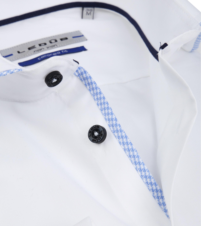 Ledub Overhemd Non Iron Wit SL7 foto 1