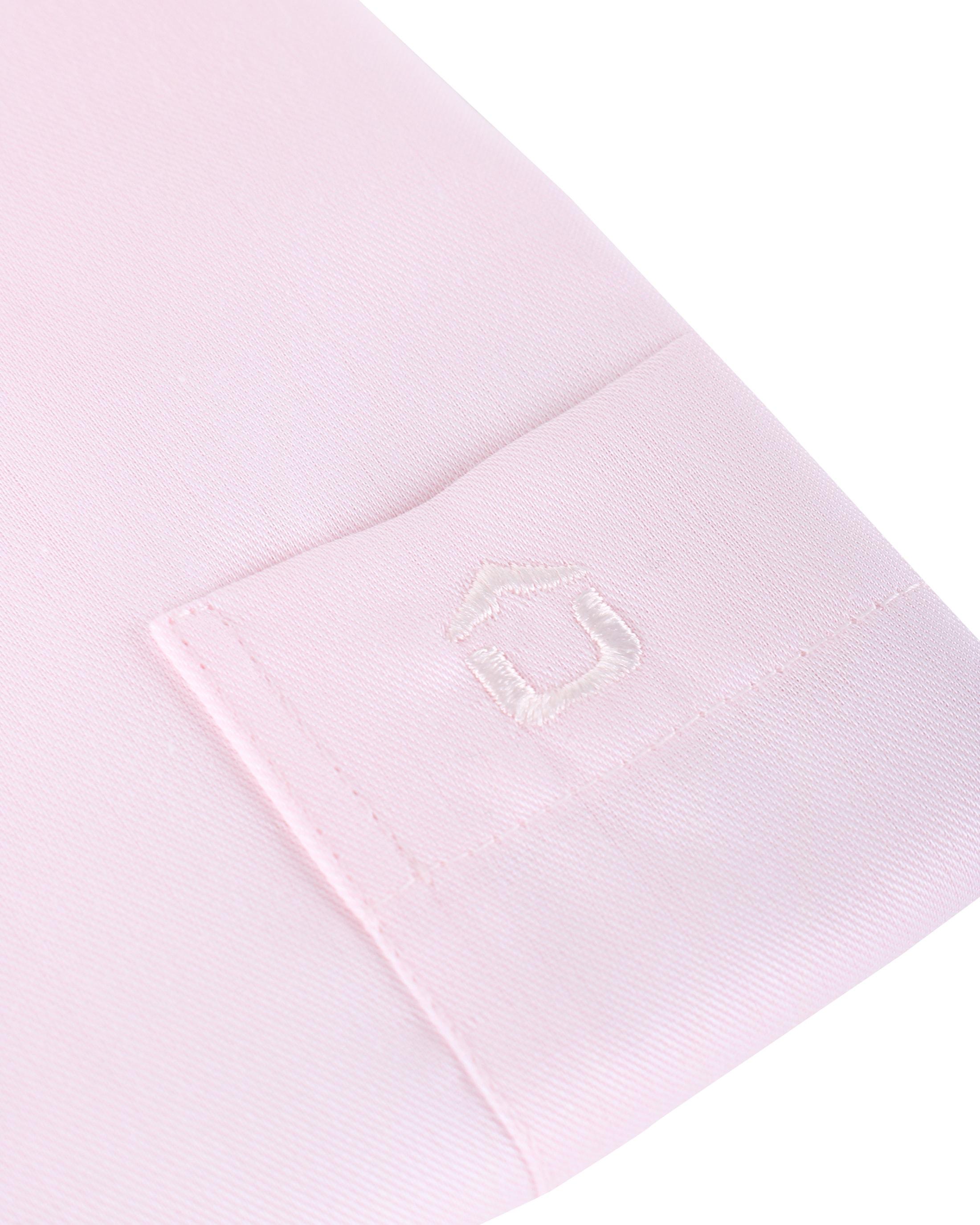 Ledub Overhemd Roze Non Iron foto 2