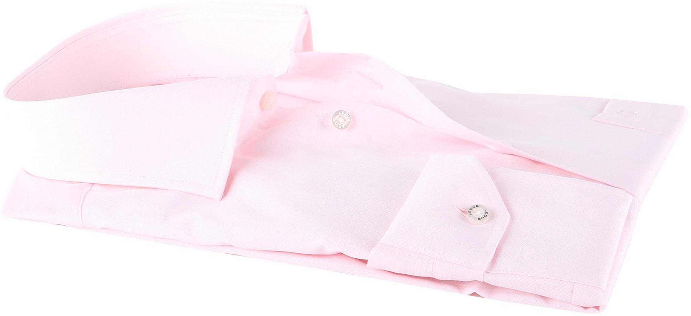 Ledub Overhemd Roze Non Iron foto 3