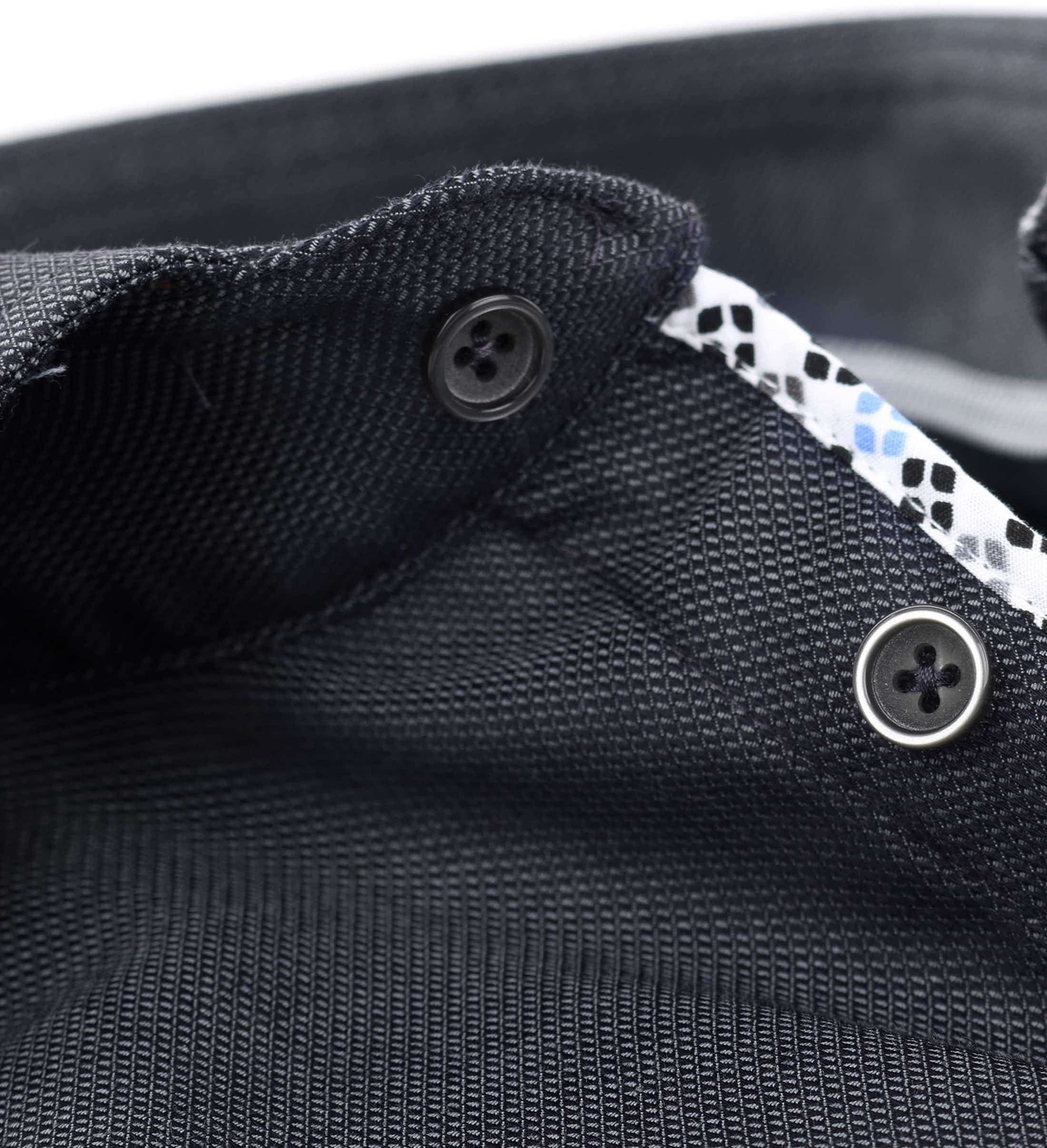 Ledub Overhemd Strijkvrij Antraciet foto 3