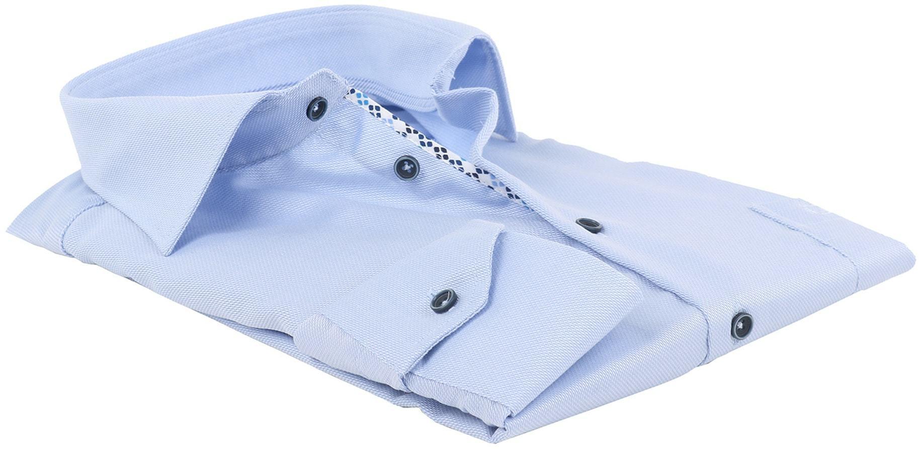 Ledub Overhemd Strijkvrij Blauw foto 2