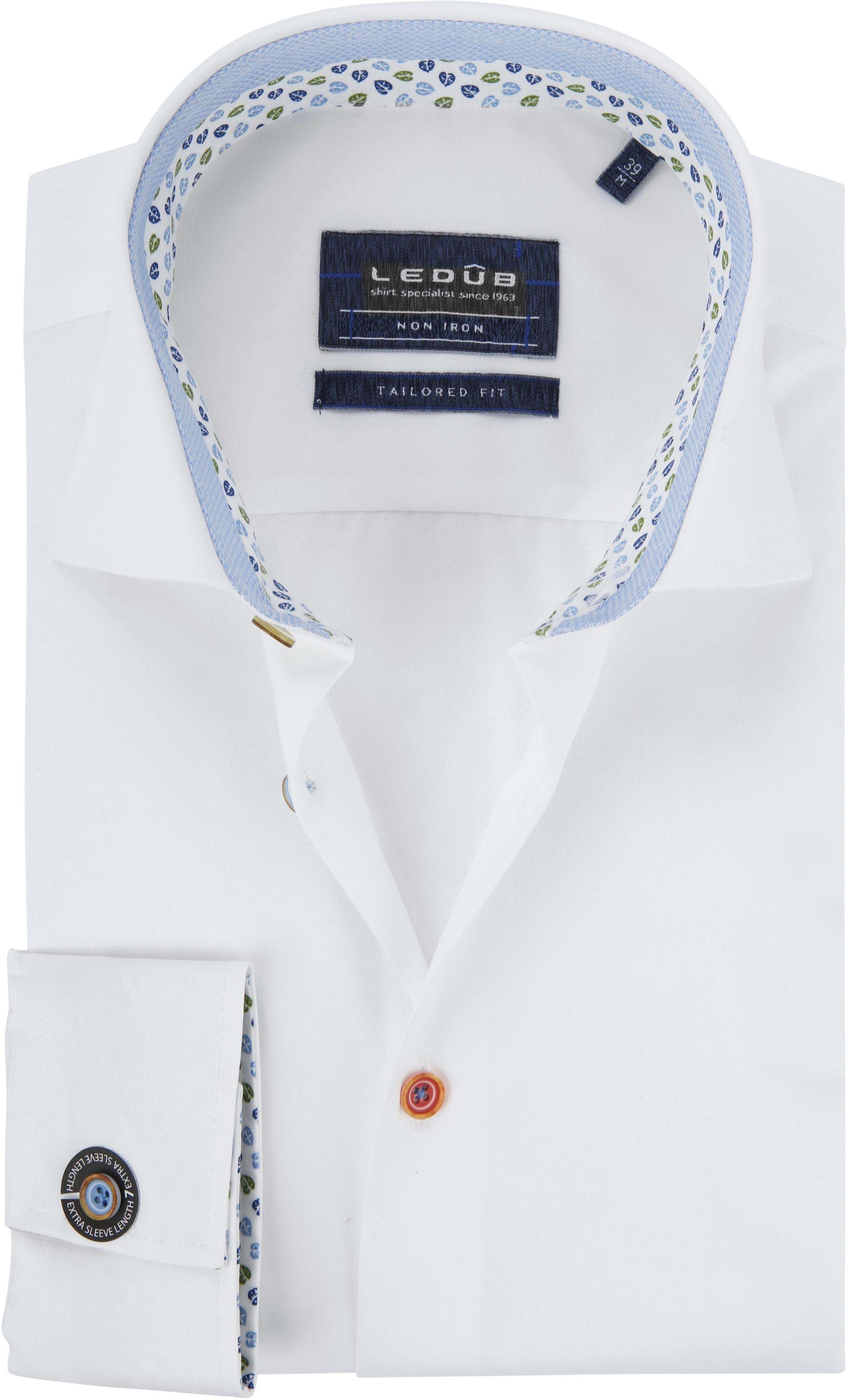 Ledub Shirt Button White SL7 foto 0