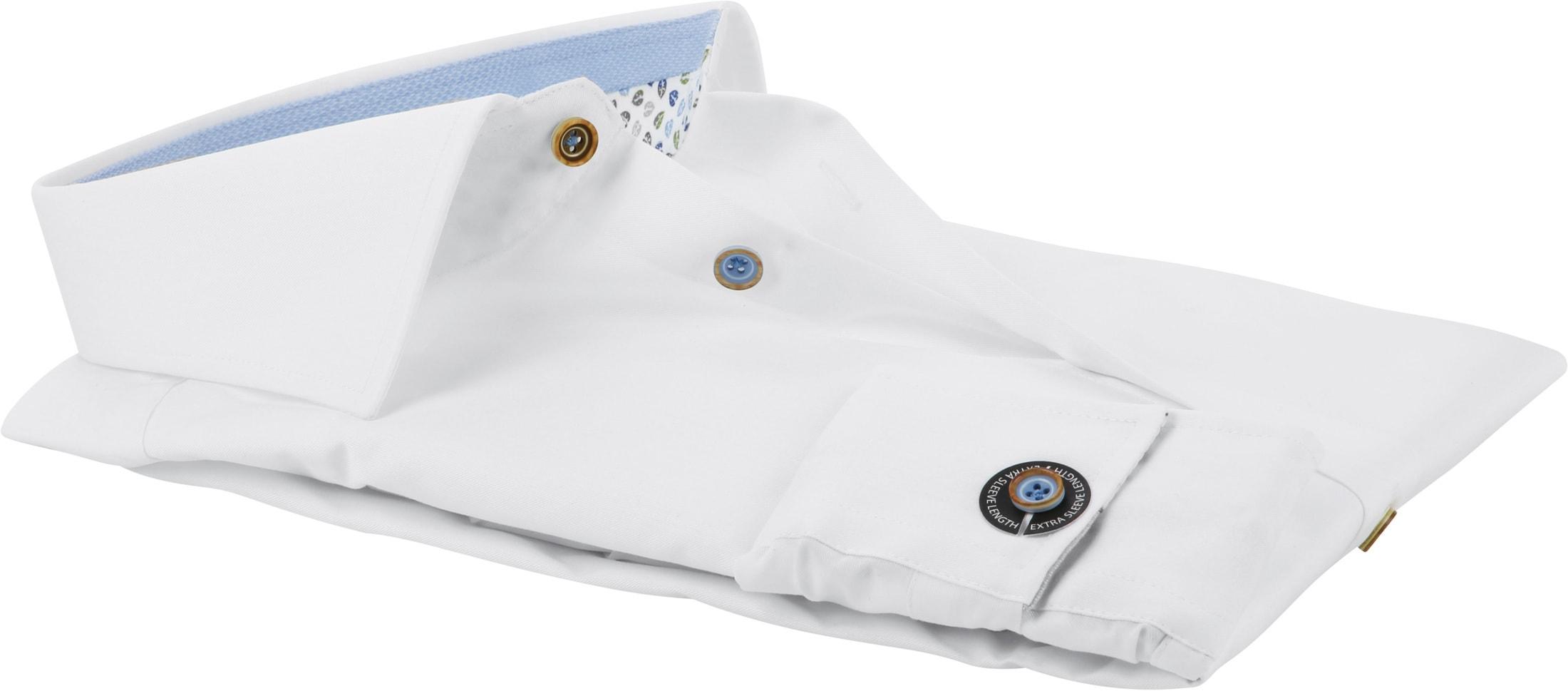 Ledub Shirt Button White SL7 foto 2