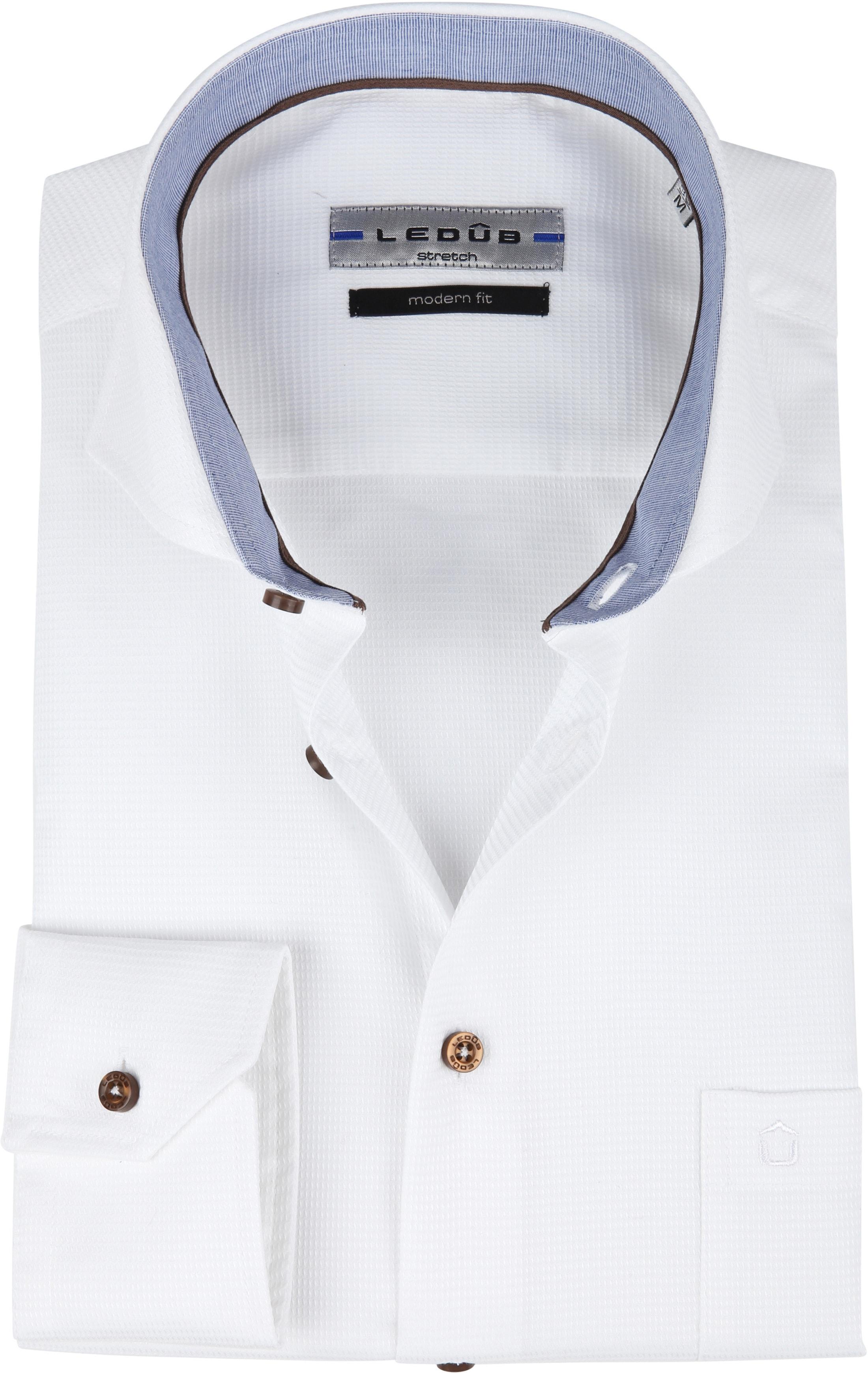 Ledub Shirt White MF foto 0
