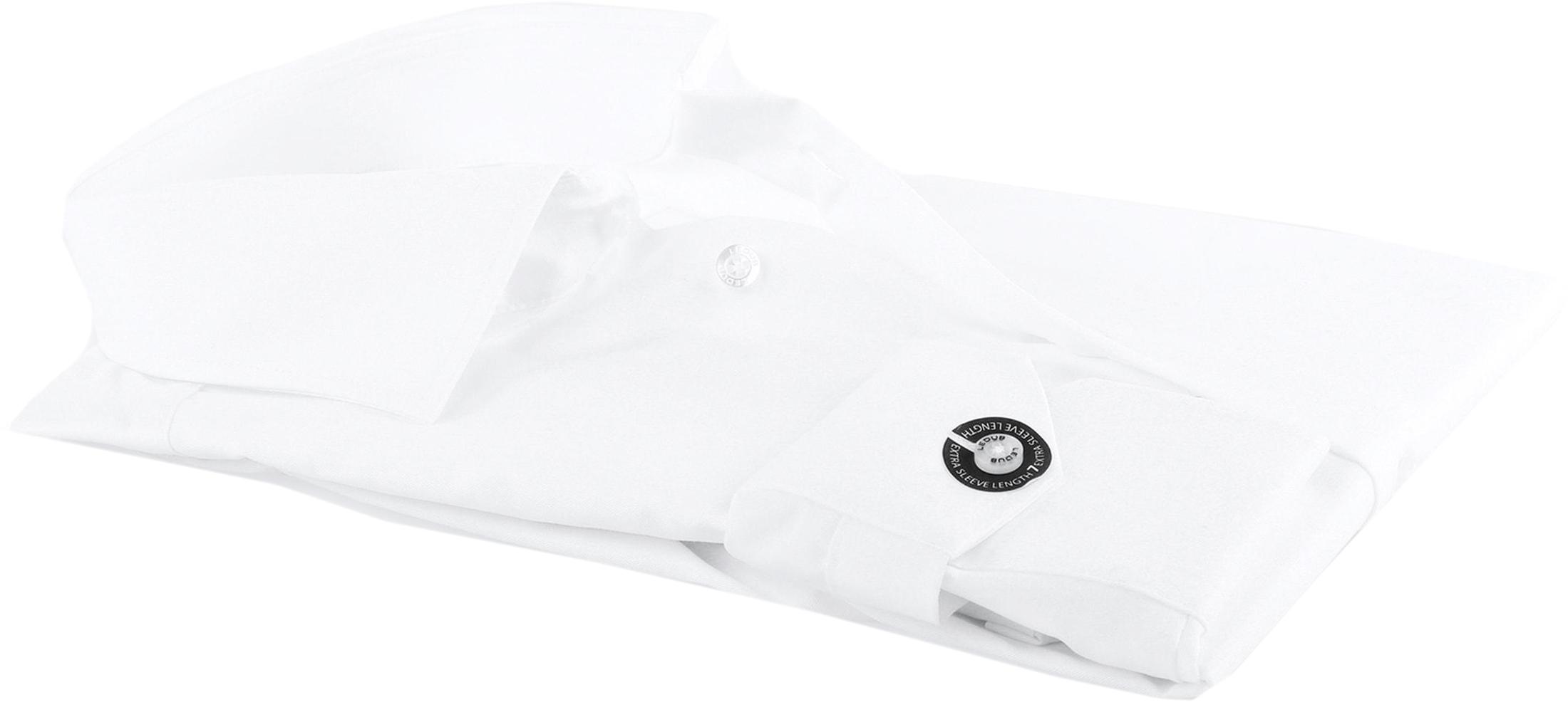 Ledub SL7 Hemd Bügelfrei Weiß foto 3