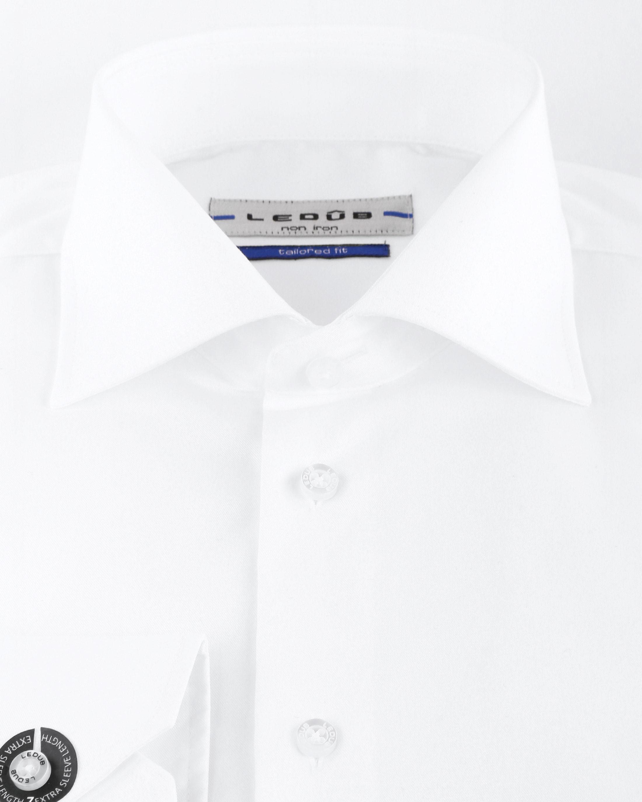 Ledub SL7 Hemd Bügelfrei Weiß foto 2