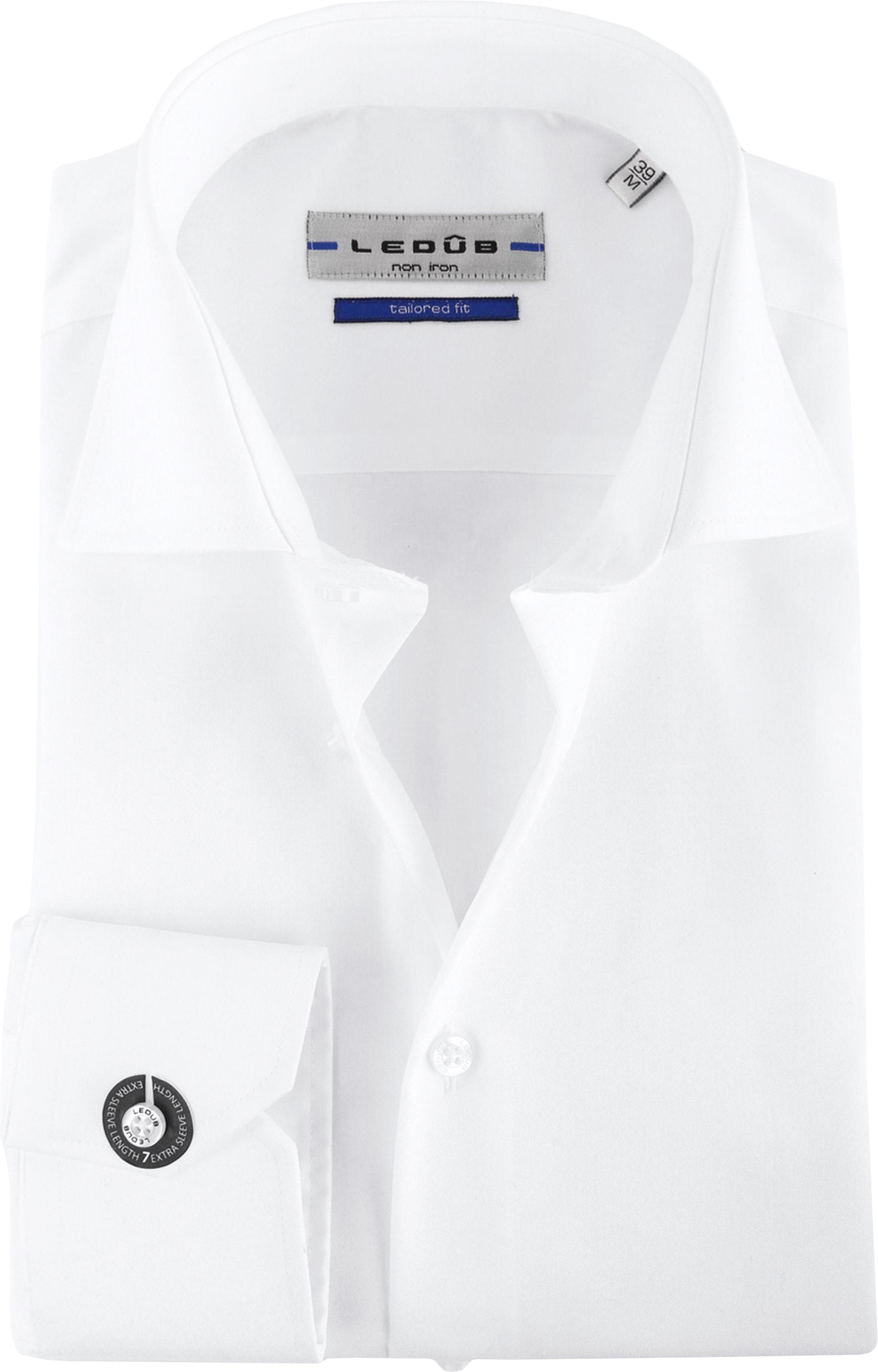 Ledub SL7 Hemd Bügelfrei Weiß foto 0