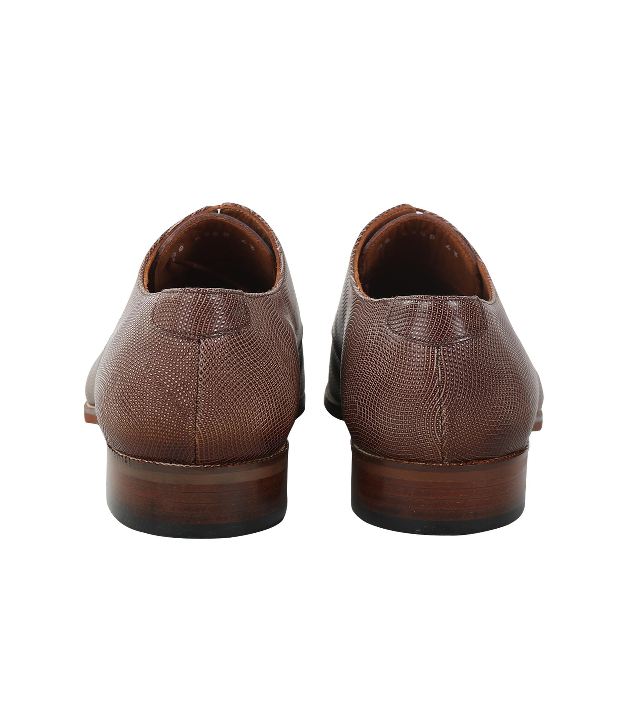 Chaussures Pour Hommes En Cuir Marron De Halley 7mN7W