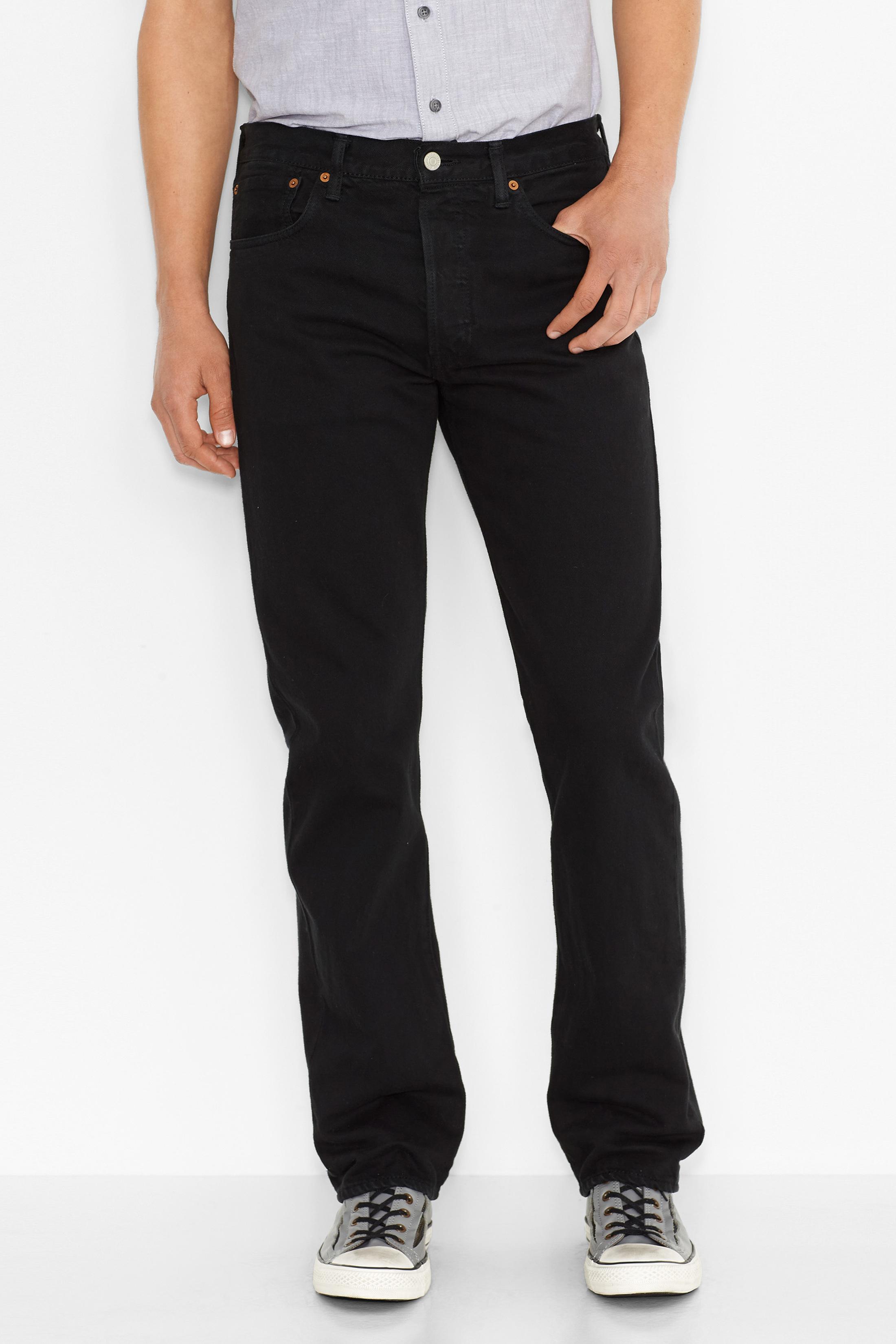 Levi's 501 Jeans Original Fit Black 0165 foto 5