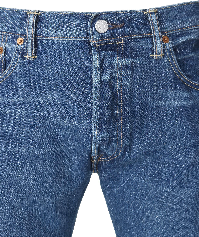 Levi's 501 Jeans Original Fit Navy foto 2