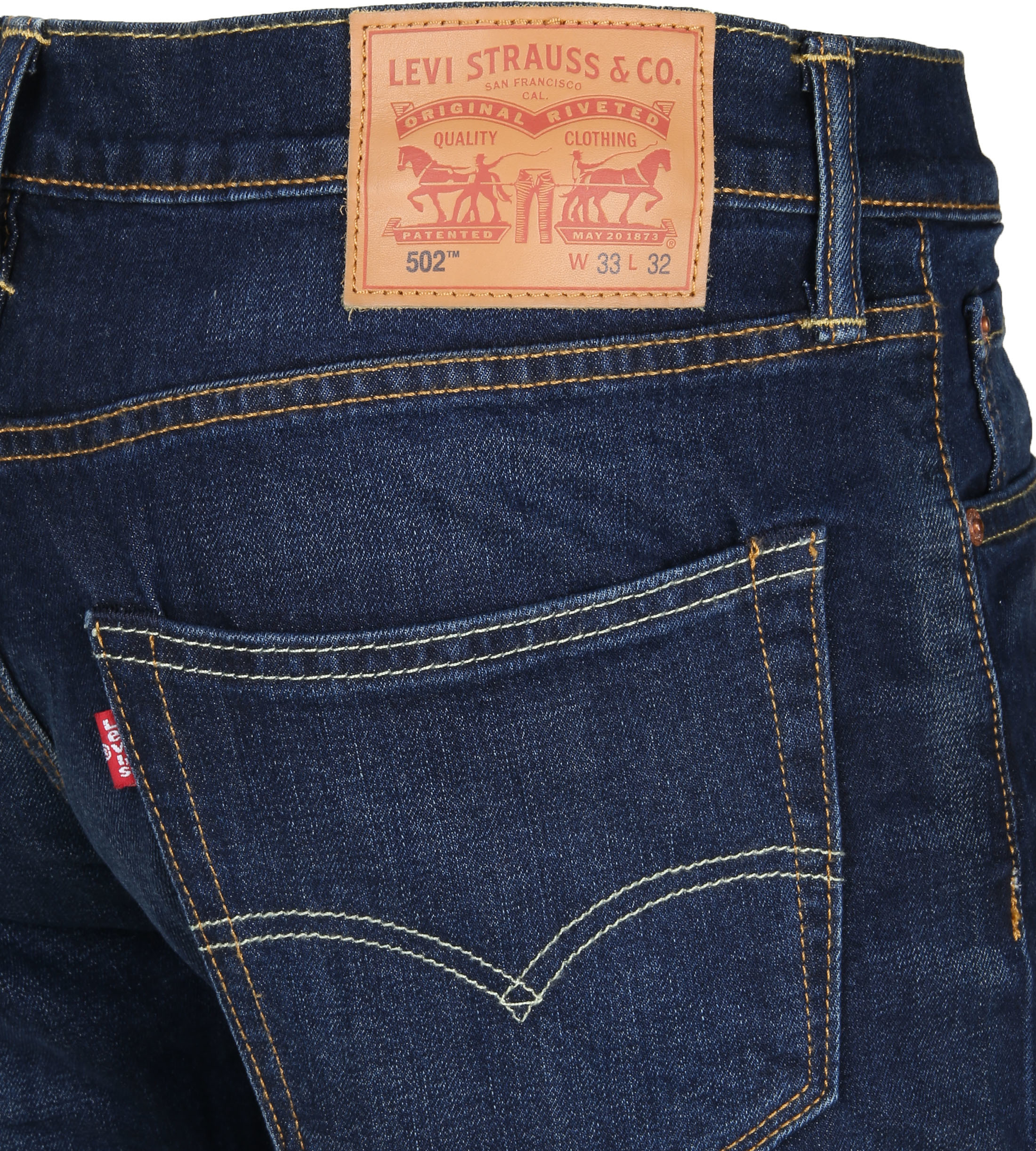 Levi's 502 Jeans City Park Dark Blue 0011 foto 3