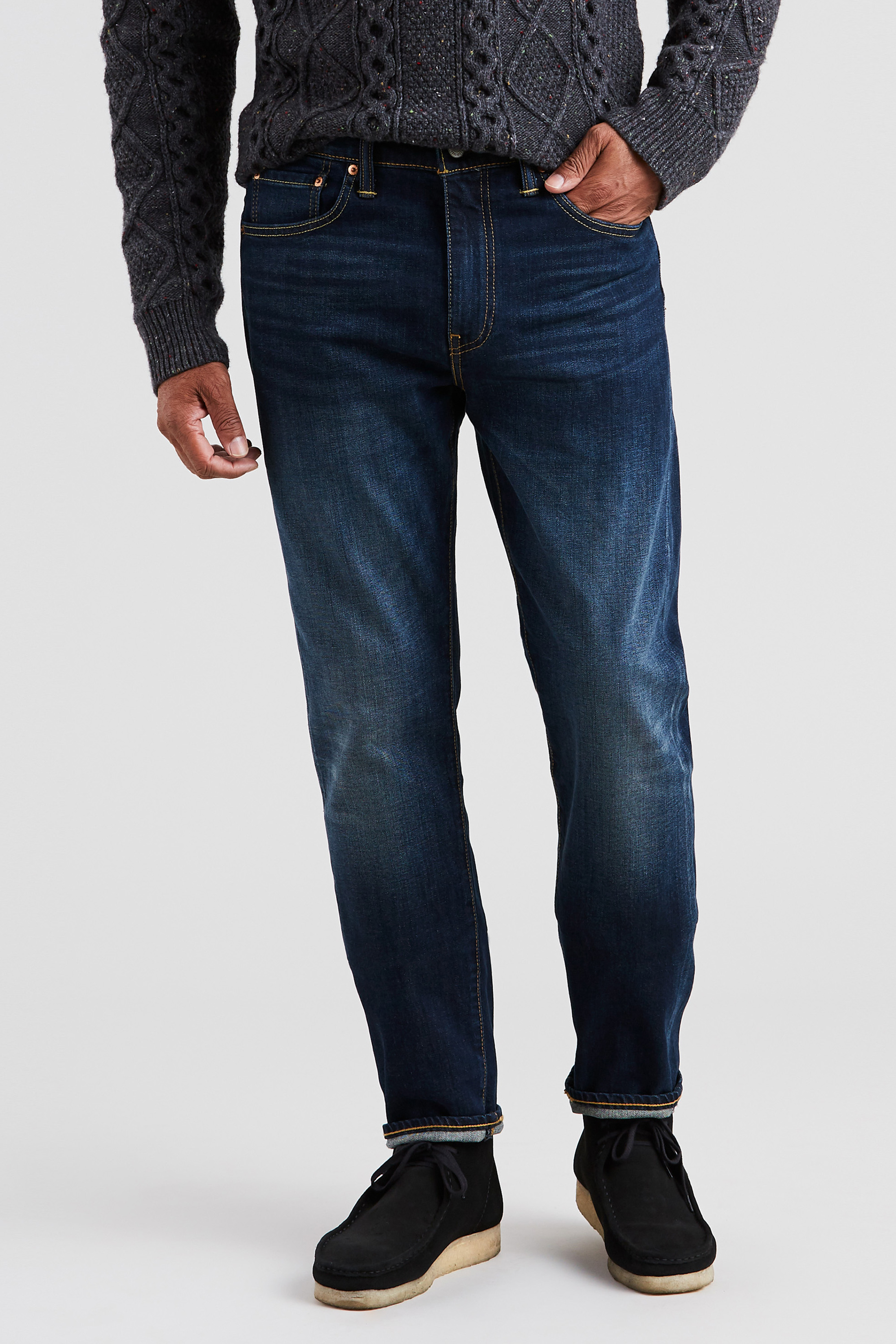Levi's 502 Jeans City Park Dark Blue 0011 foto 4