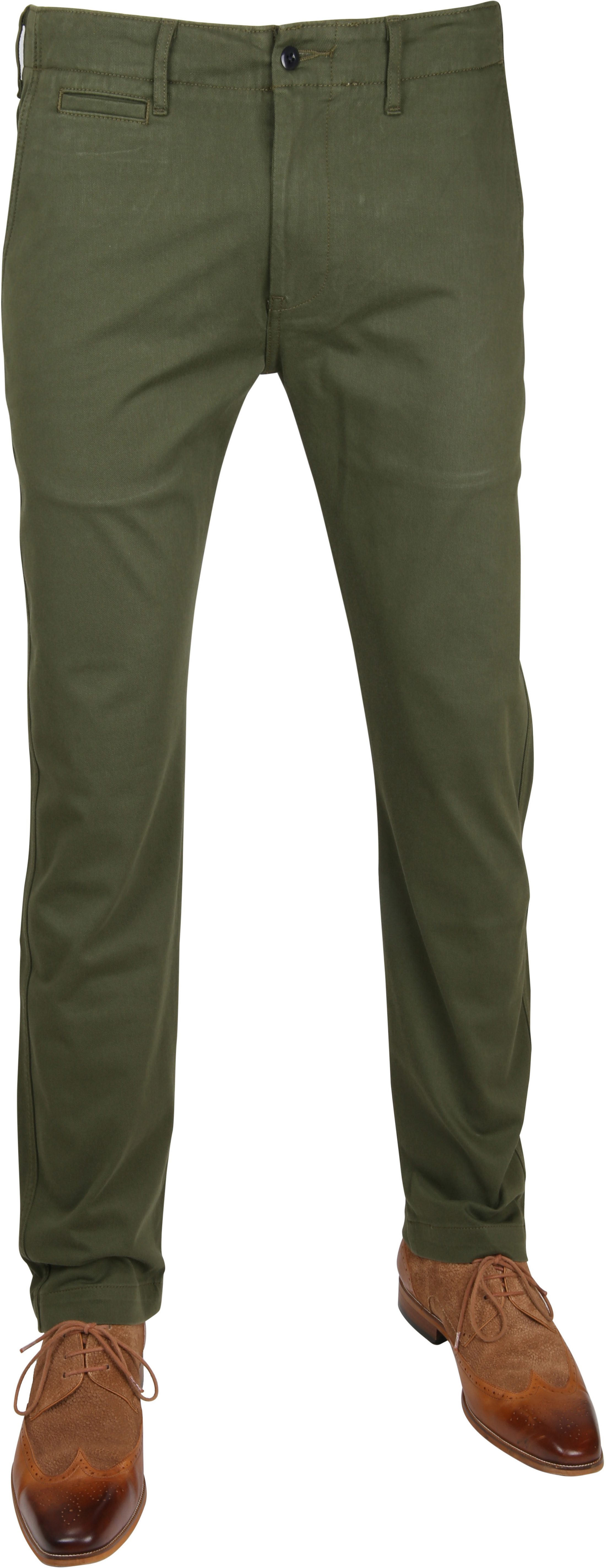 Levi's 502 True Chino Rainforest Green foto 0