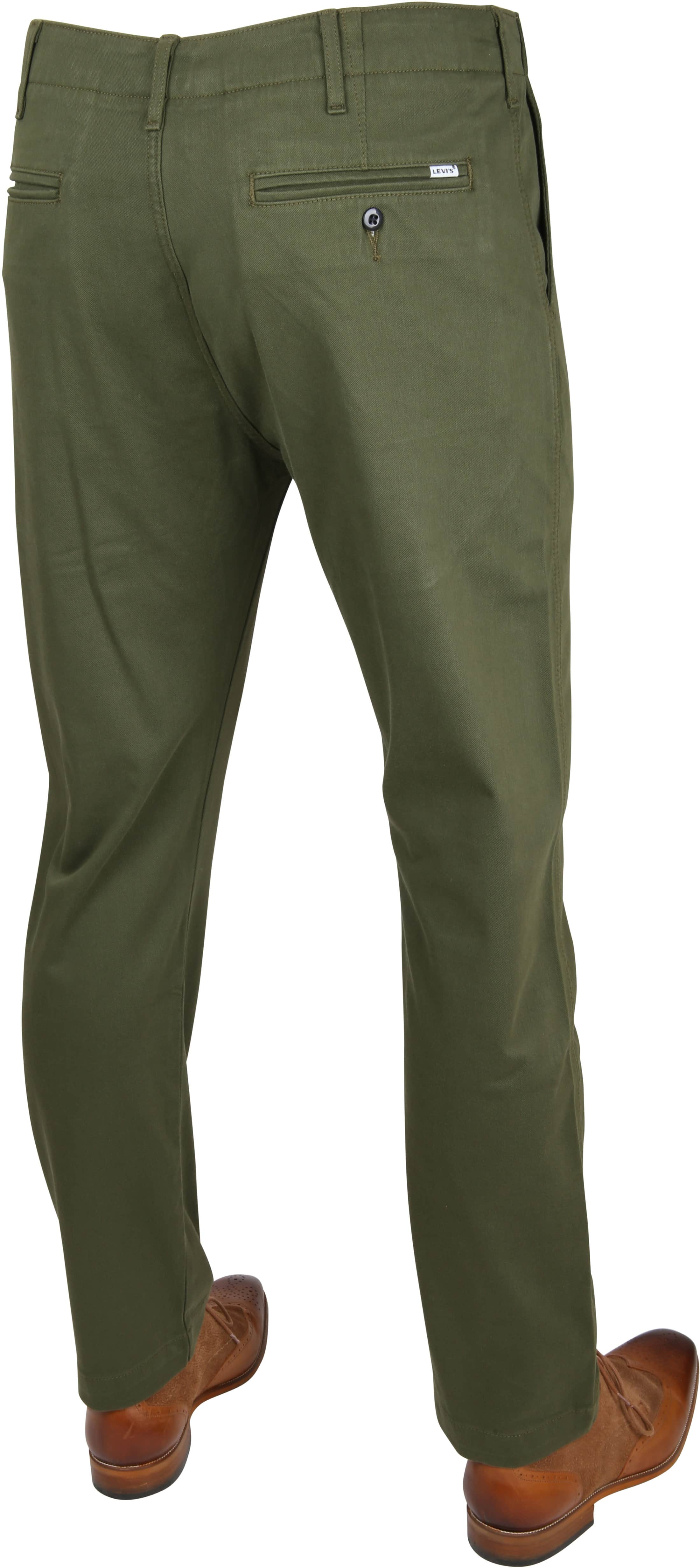 Levi's 502 True Chino Rainforest Green foto 2