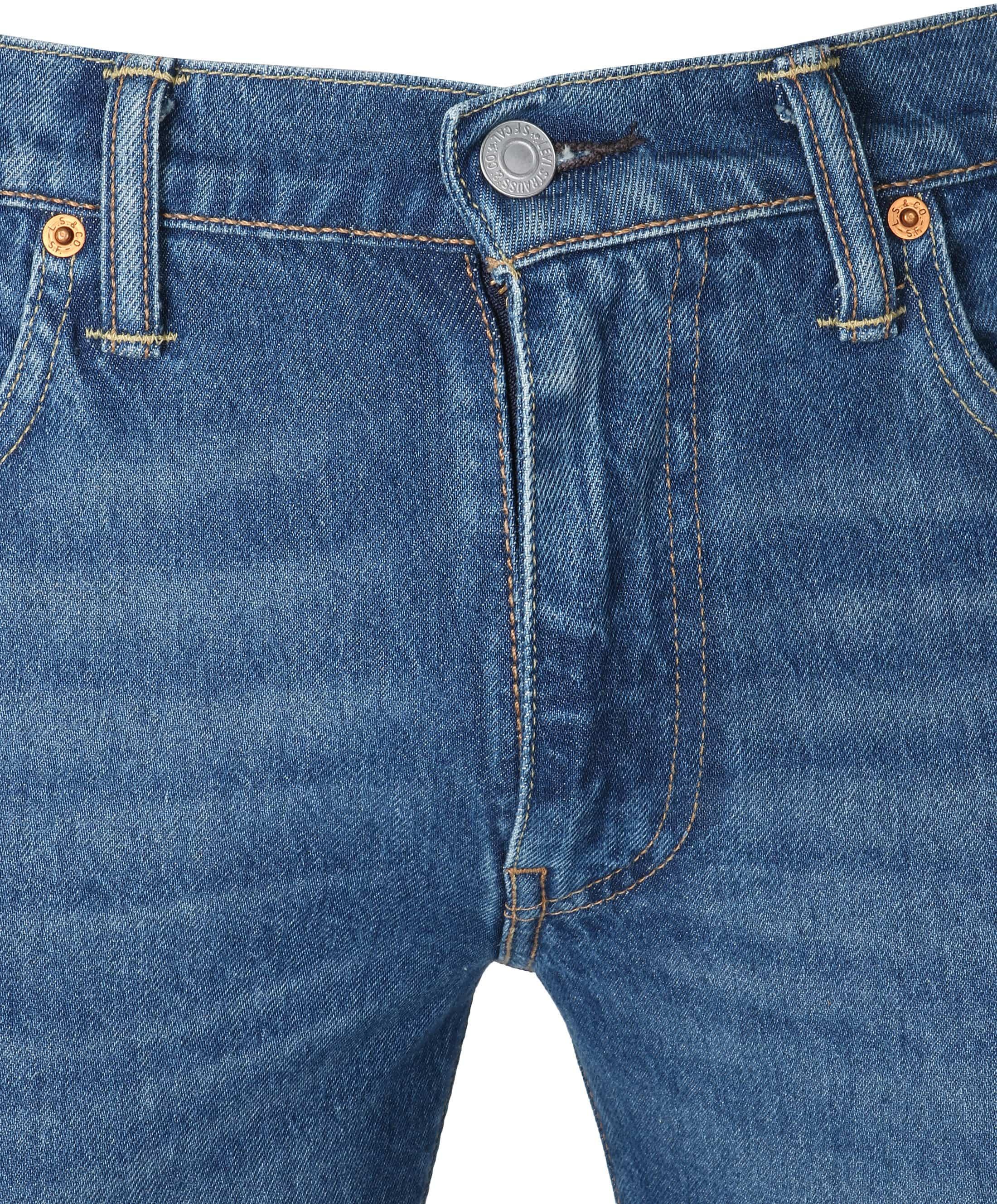 Levi's 511 Jeans Slim Fit Blauw foto 3