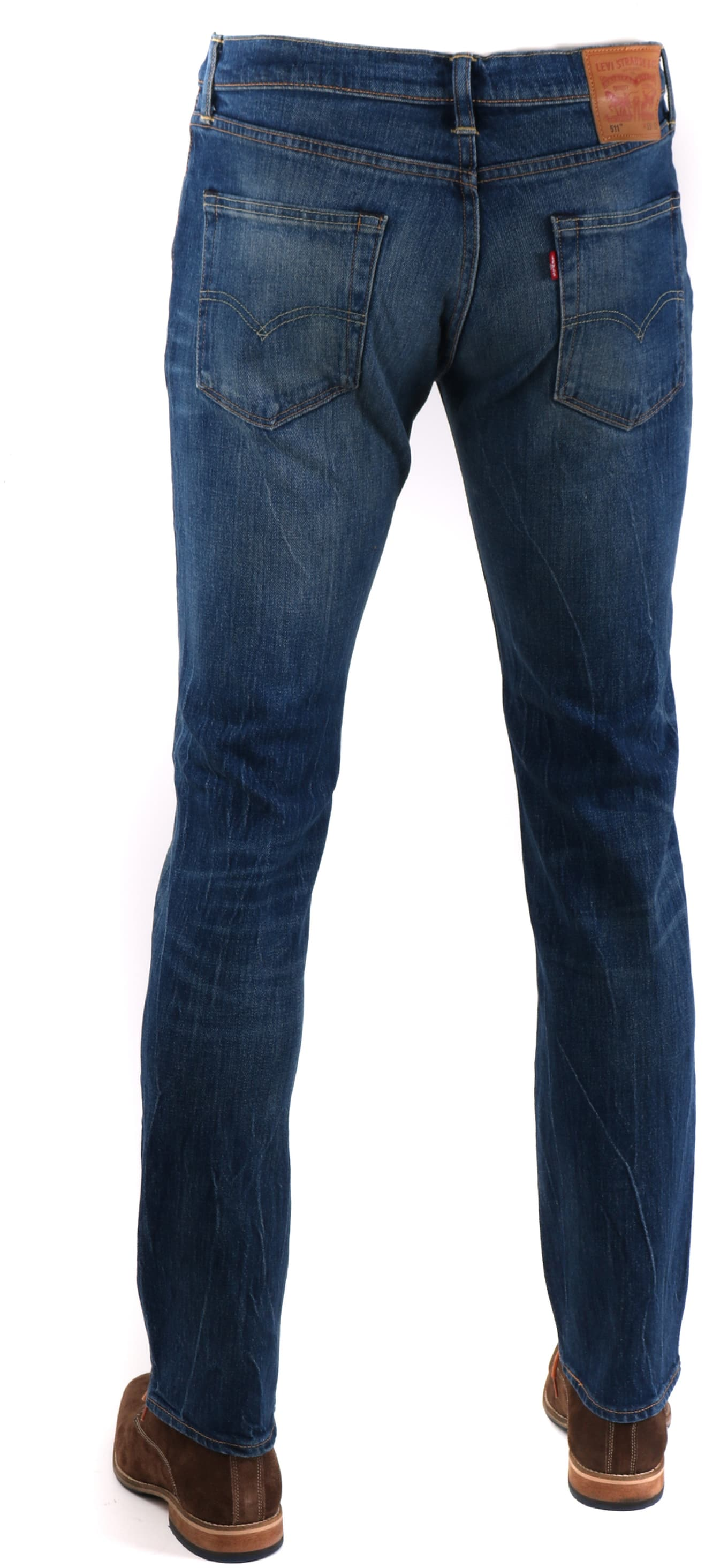 Levi's 511 Jeans Slim Fit Darkblue 1876 foto 1