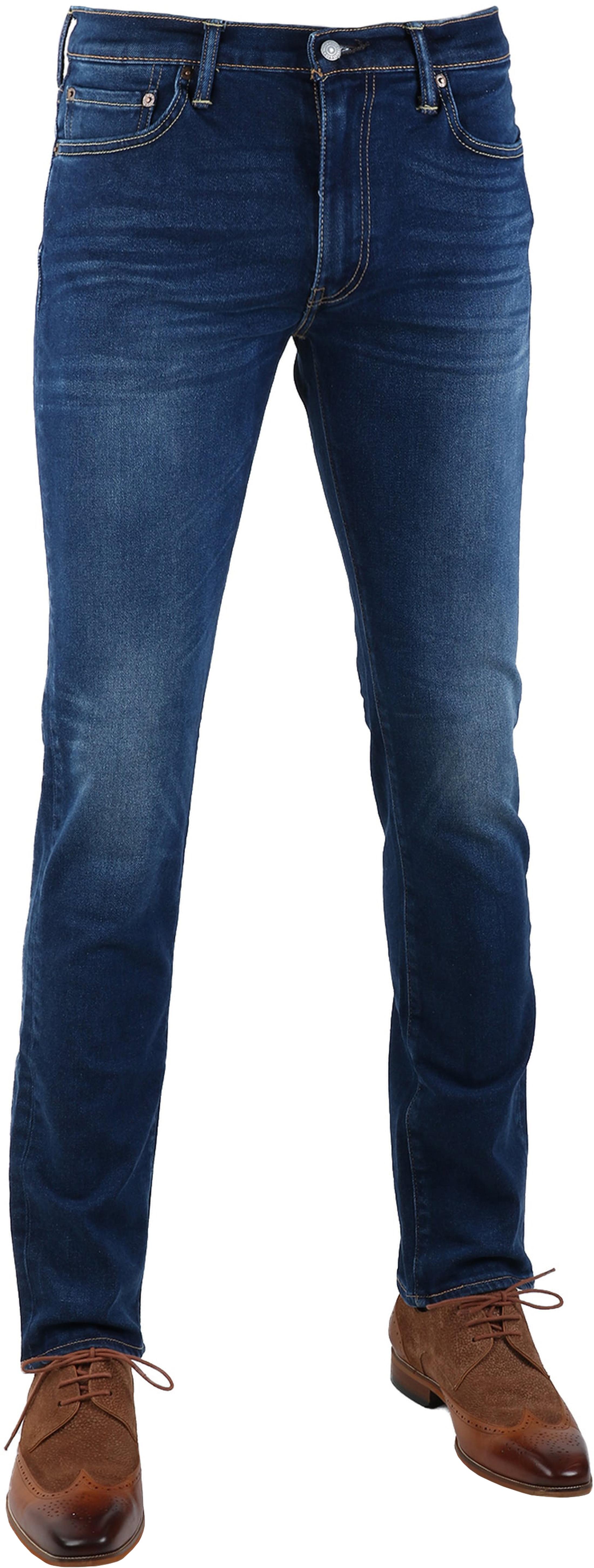 Levi's 511 Jeans Slim Fit Midblue 2006 foto 0