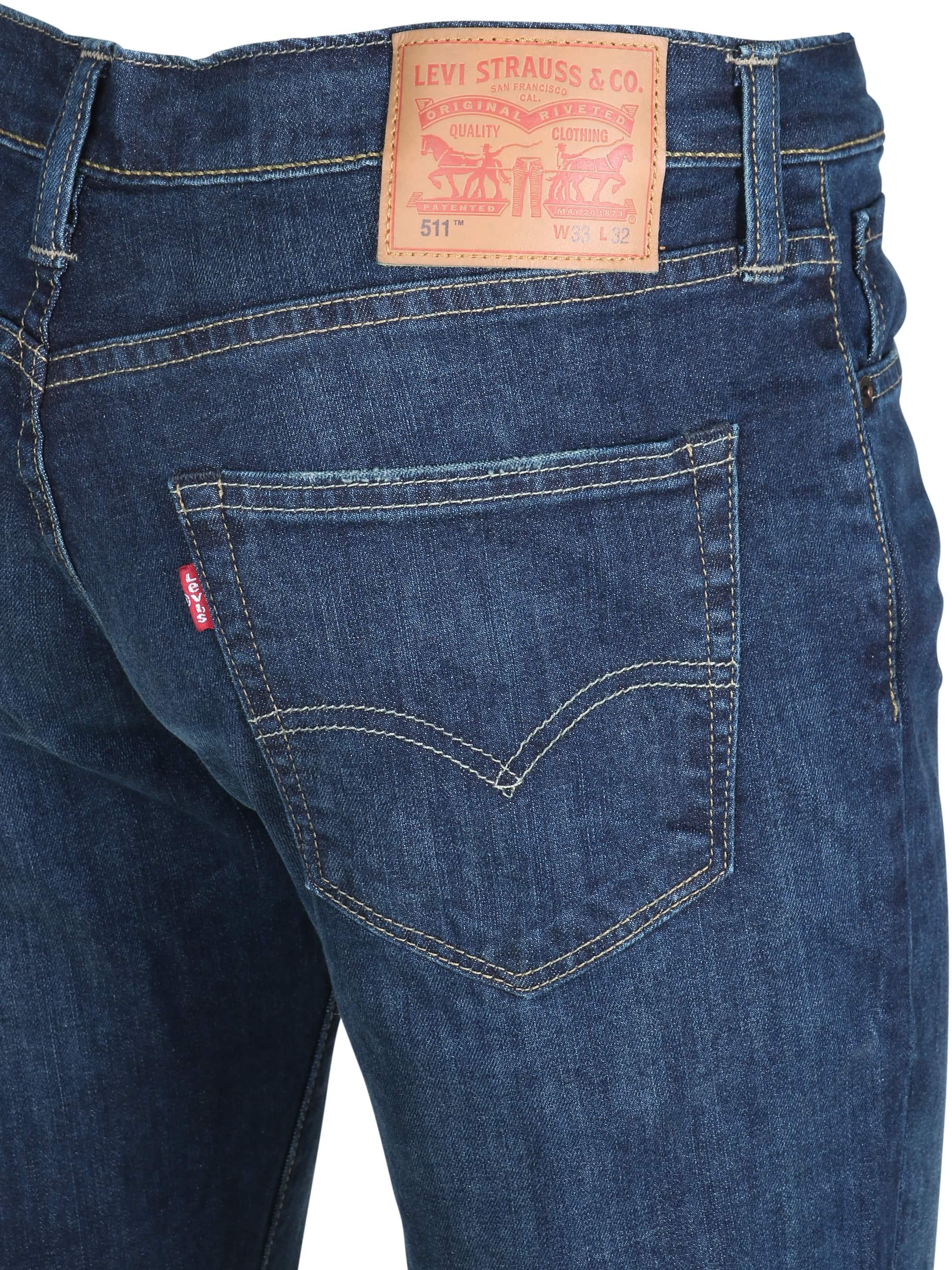 Levi's 511 Spijkerbroek Slim Fit 0709 foto 1