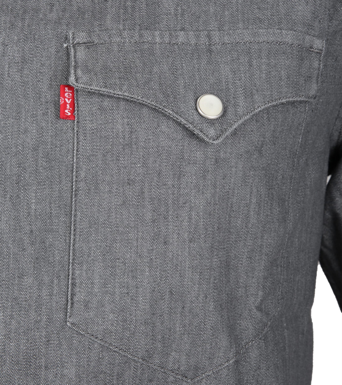 Levi's Barstow Western Overhemd Grey foto 1
