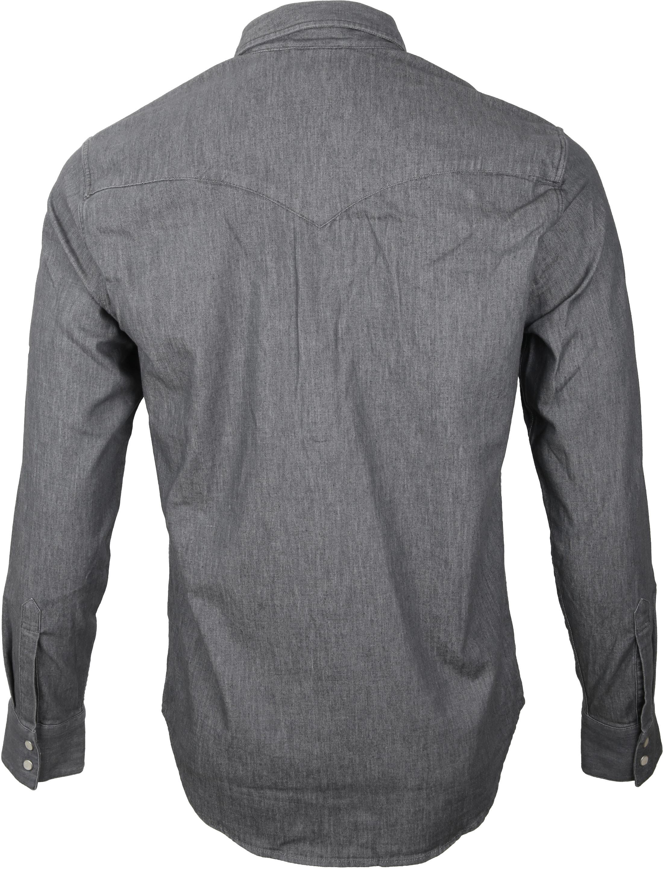 Levi's Barstow Western Overhemd Grey foto 3