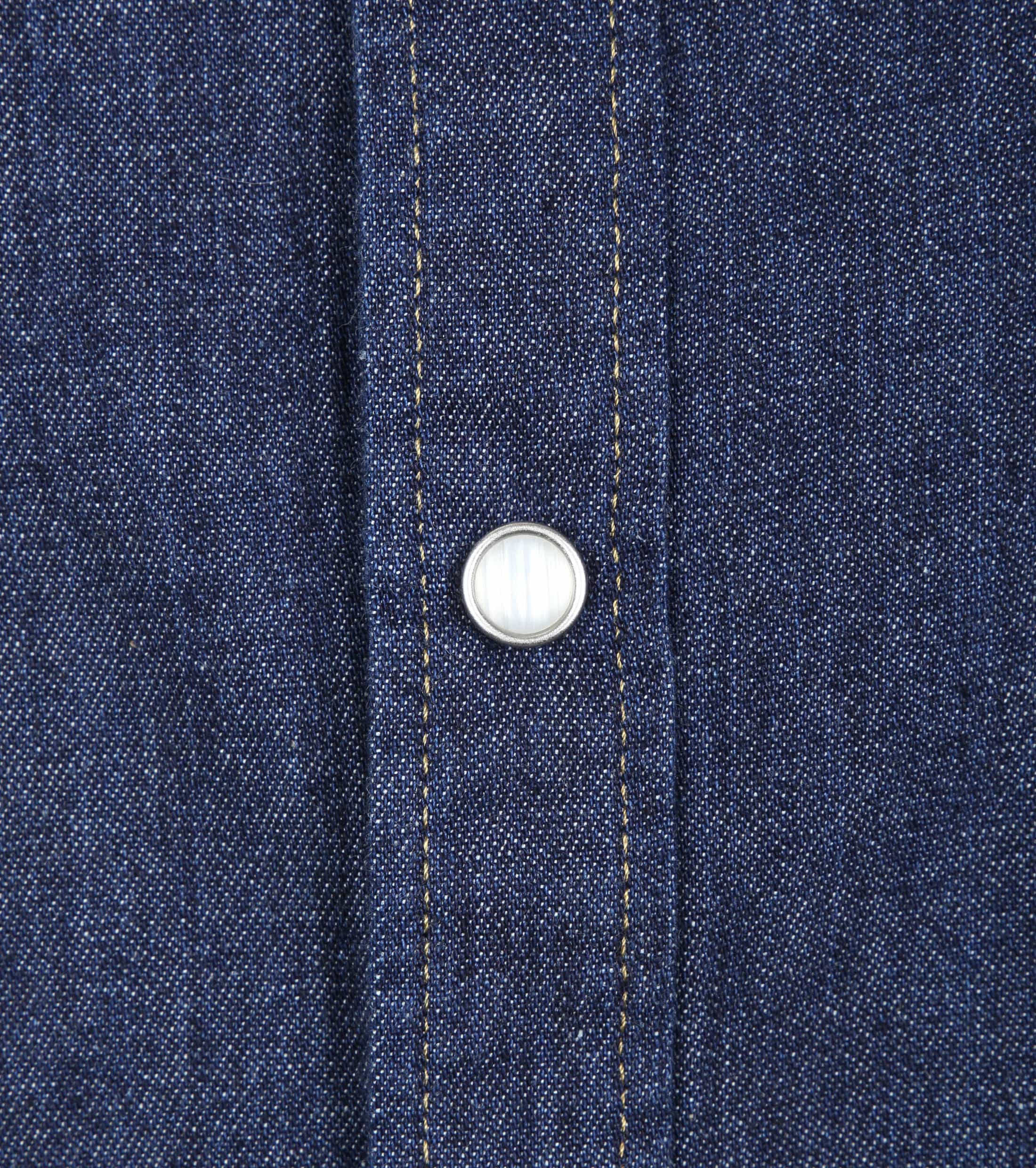 Levi's Barstow Western Overhemd Navy foto 2