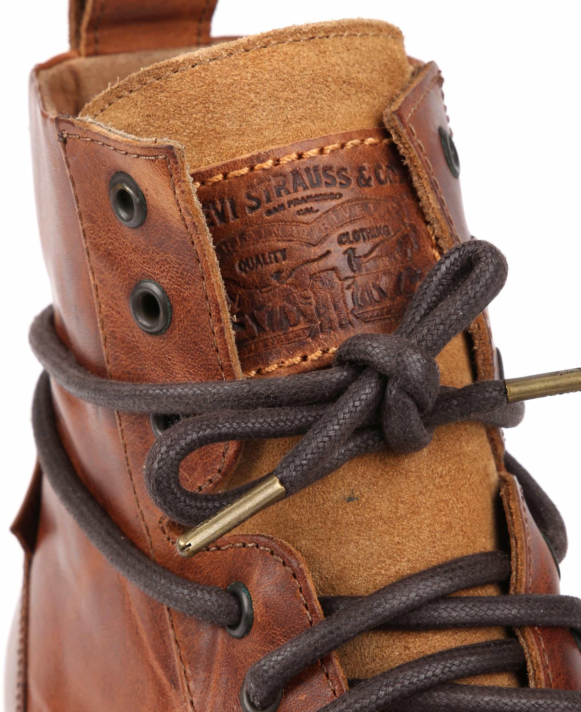 Levi's Boots Emerson Bruin Leer foto 1