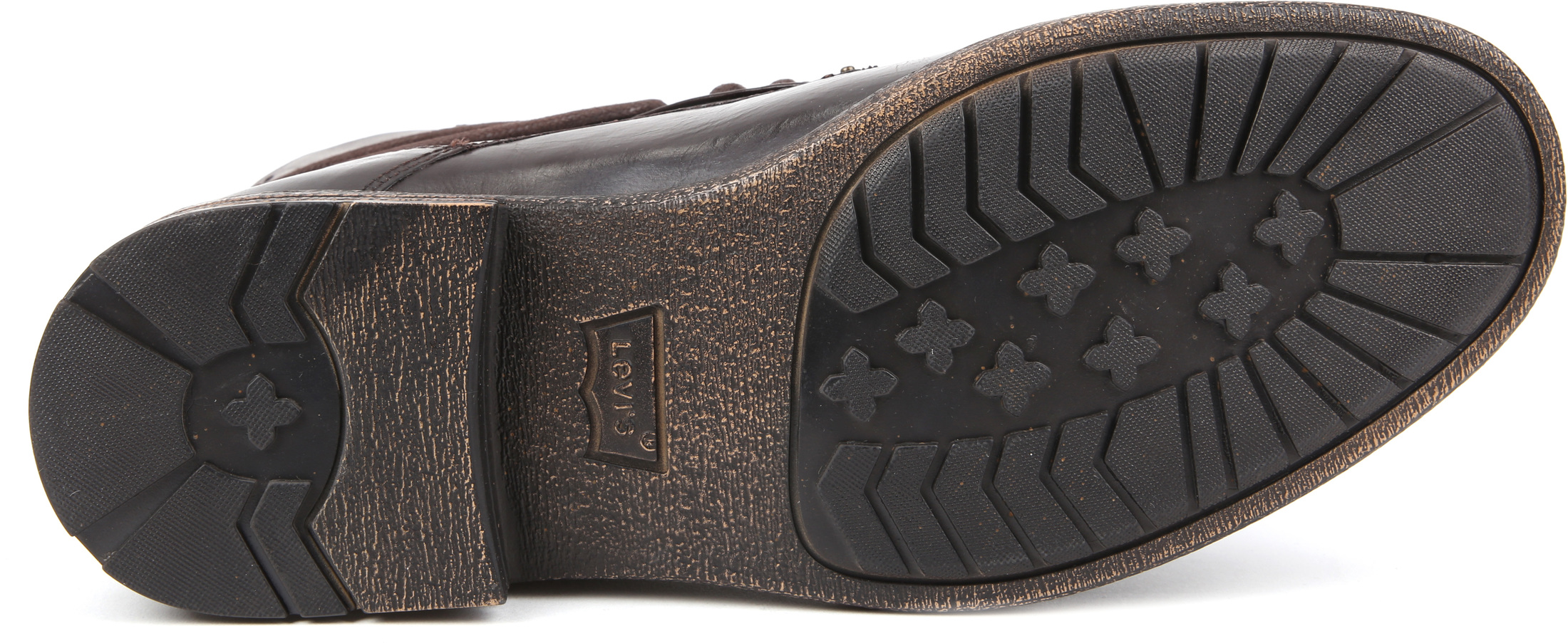 Levi's Boots Emerson Dark Brown Lether foto 4