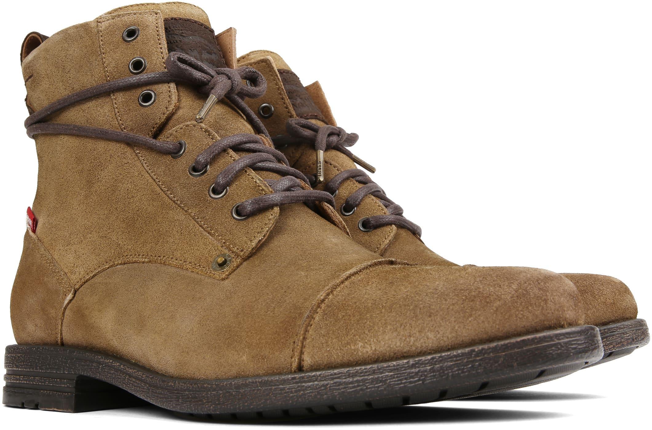 Levi's Boots Emerson Graun Grün foto 5