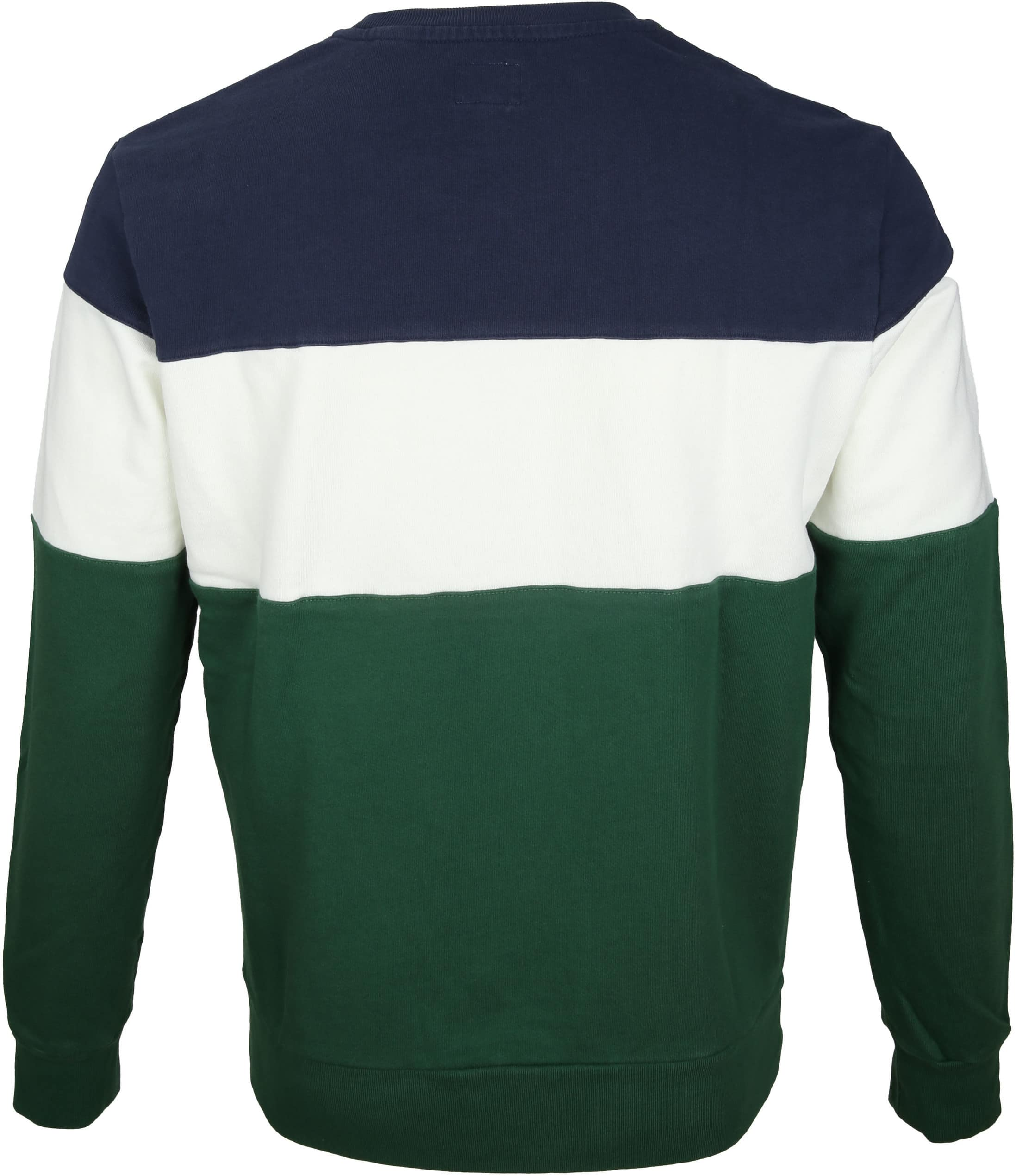 Levi's Colorblock Sweater Green foto 3