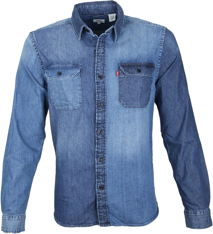 Levi's Jackson Worker Overhemd Washed foto 0