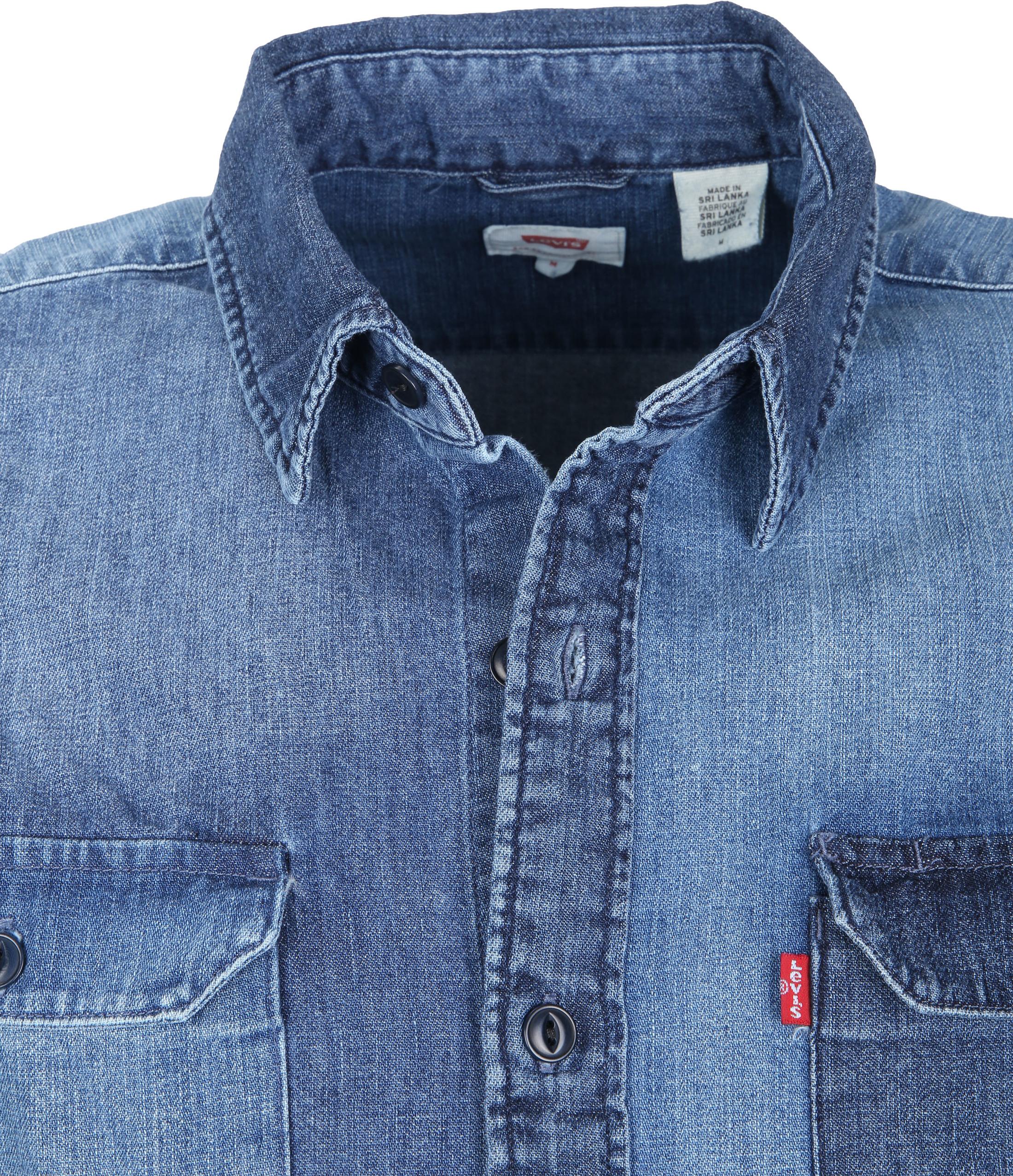 Levi's Jackson Worker Overhemd Washed foto 1