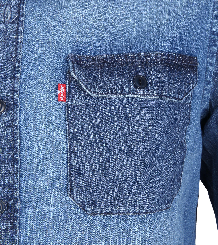 Levi's Jackson Worker Overhemd Washed foto 2