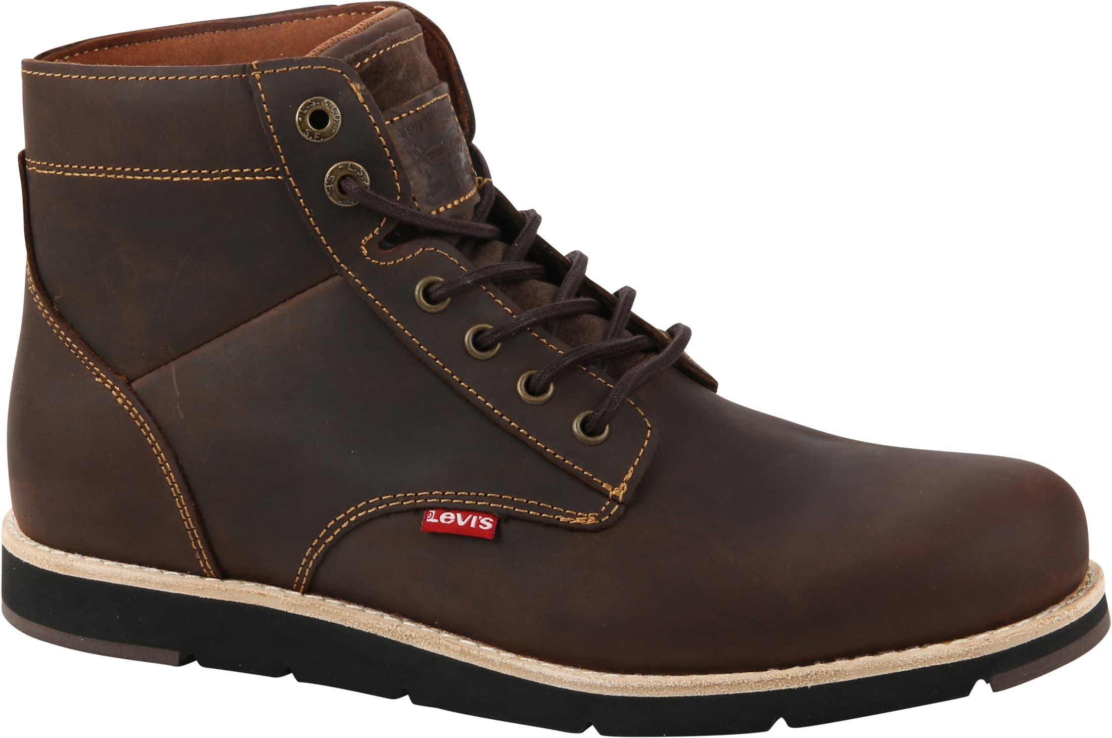 Levi's Jax Plus Boots Dark Brown foto 0